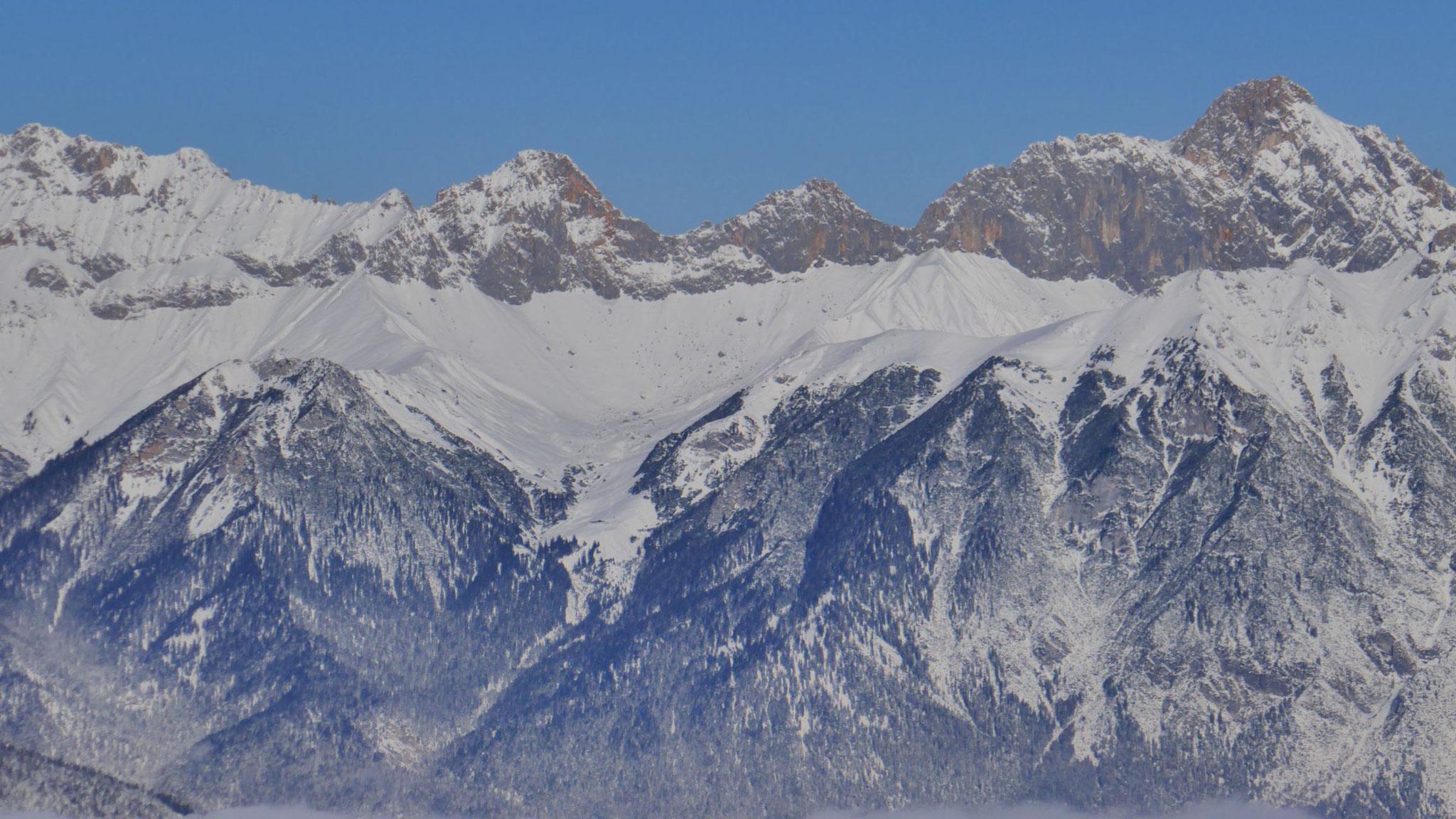 Obere Wettersteinspitze - Scharnitzspitze - Schüsselkarspitze
