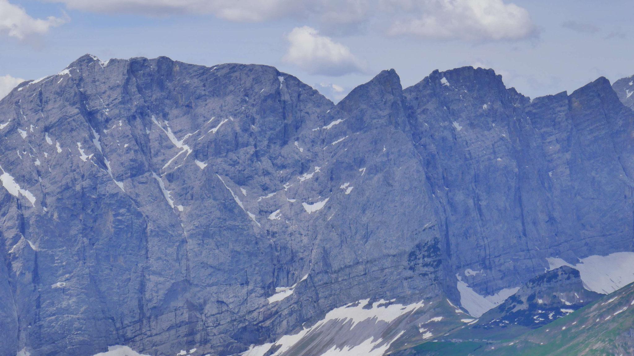 Grubenkarspitze und Grubenkarpfeiler