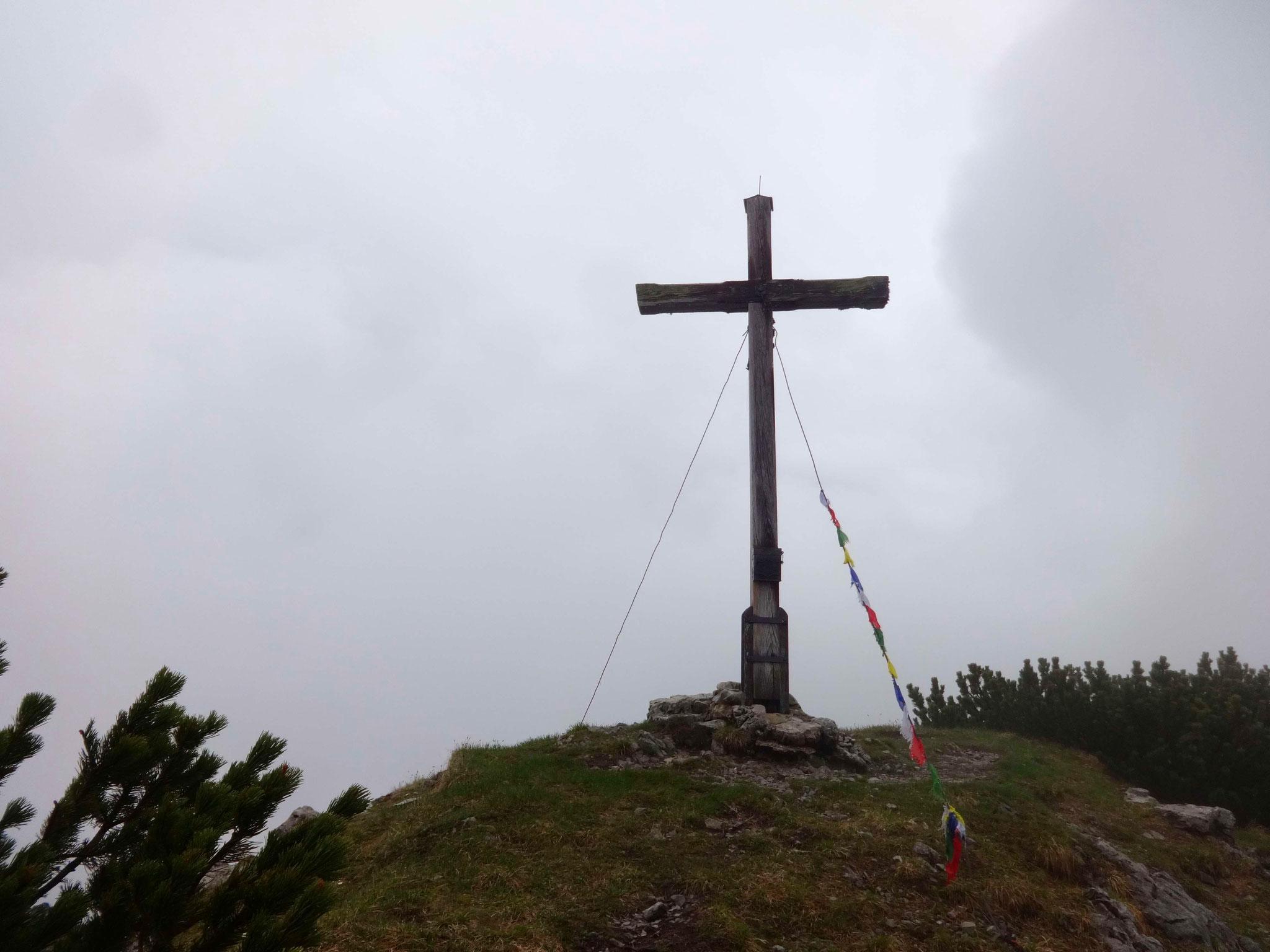 ...dafür ist es nicht mehr weit bis zum Gipfel des Bischof.