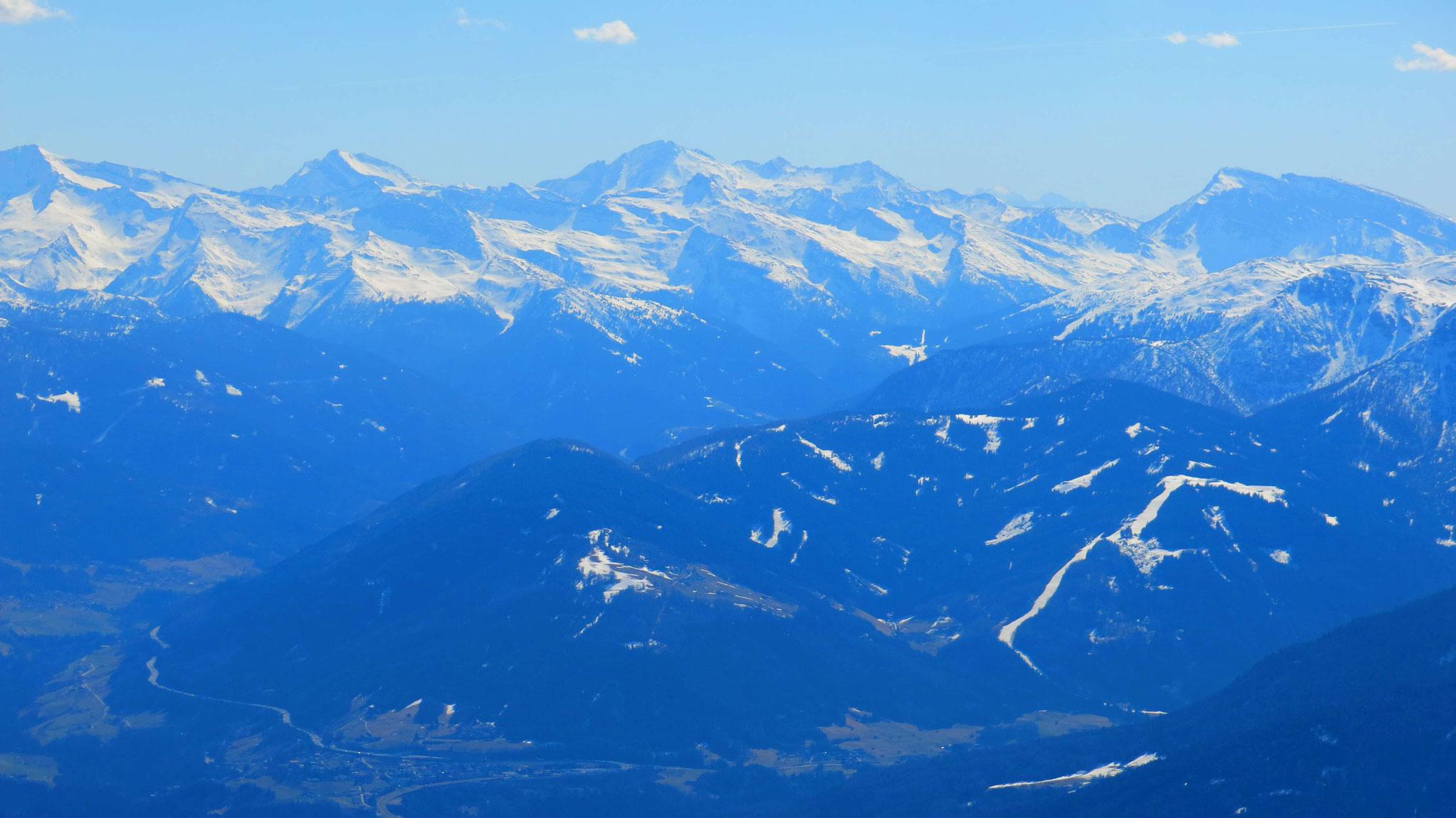 Über das Wipptal in die Zillertaler Alpen