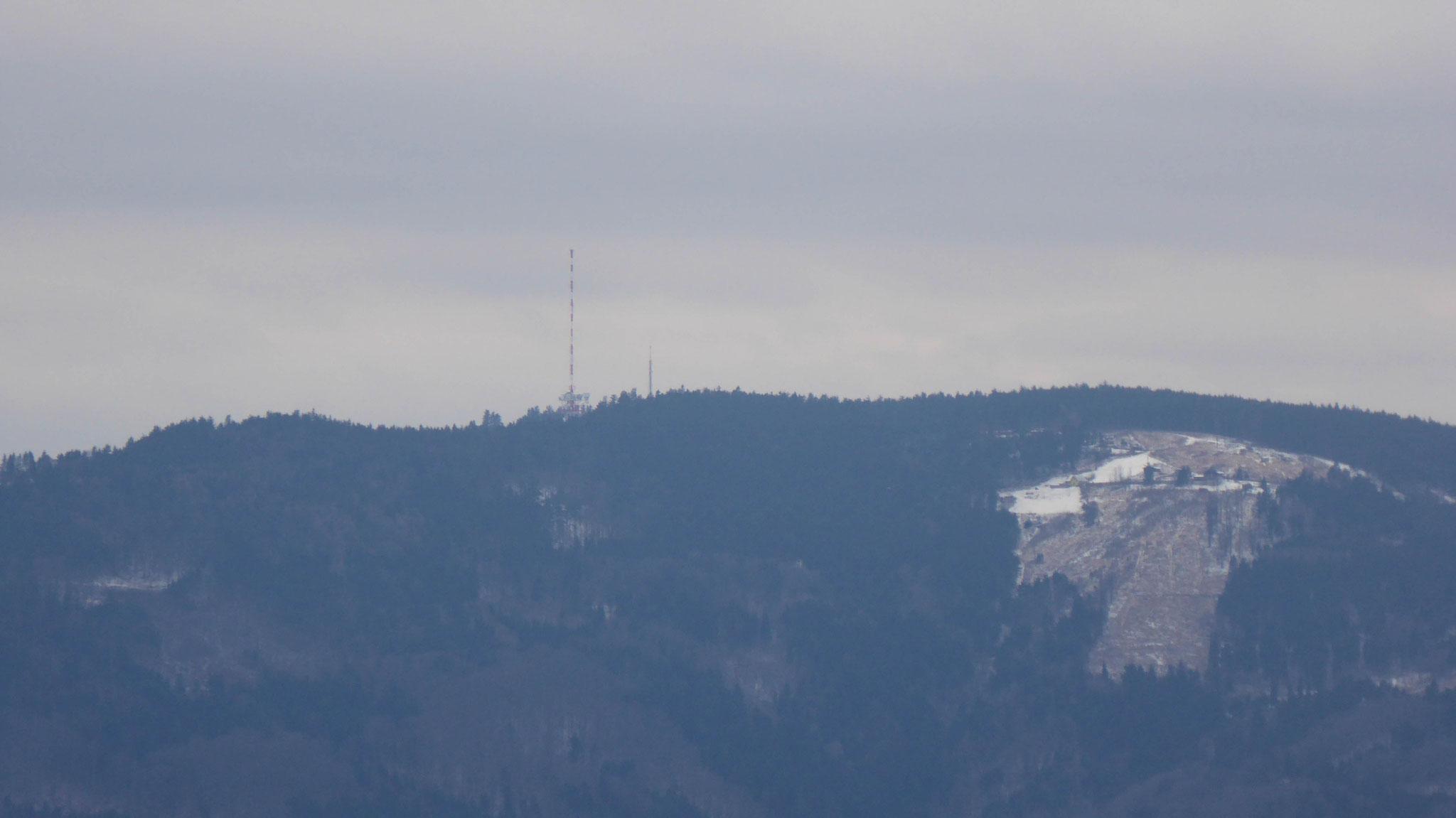 Jauerling, mit 960m höchste Erhebung der Wachau