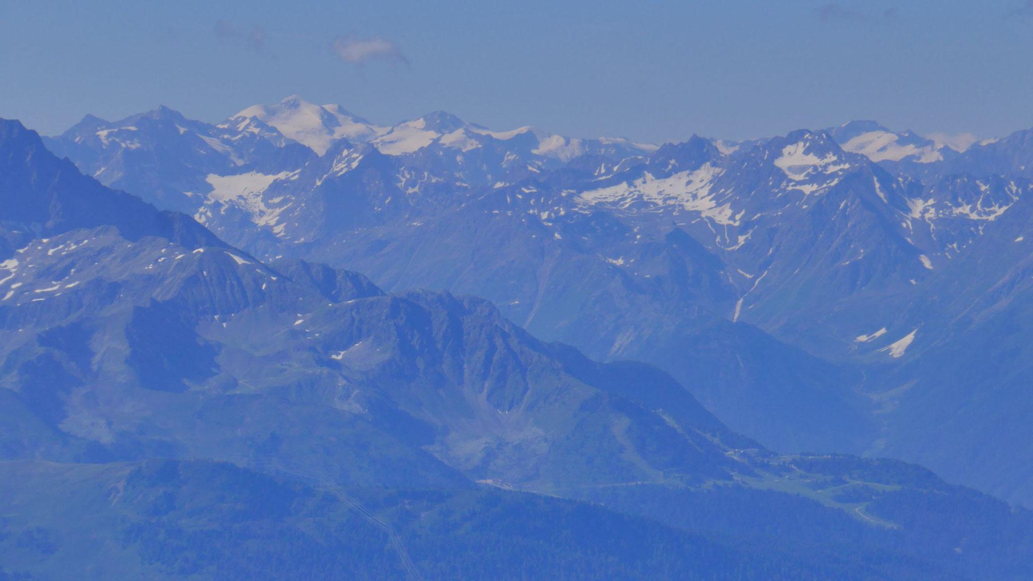 Ötztaler Alpen mit Wildspitze