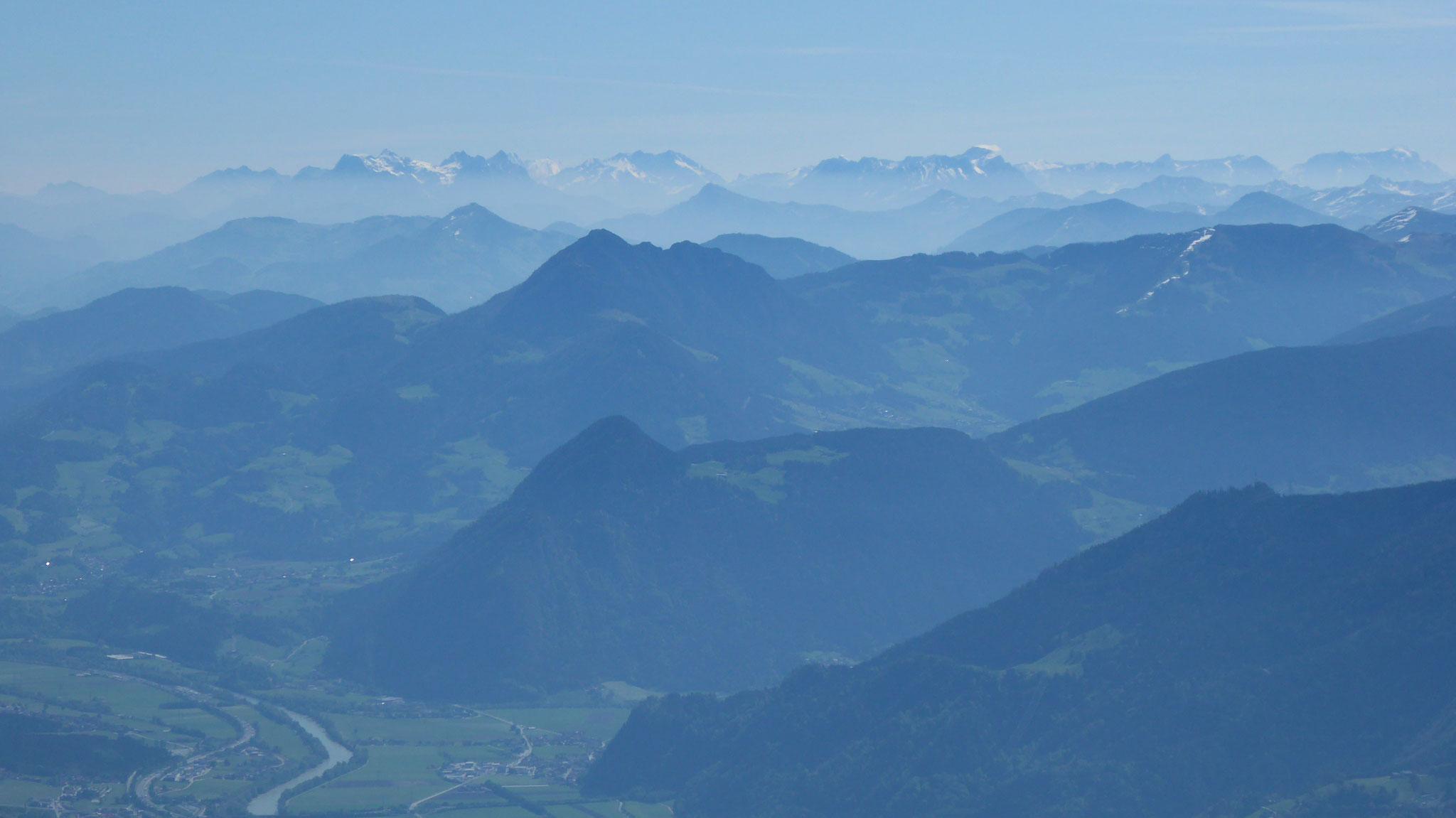 Über Zillertal und Gratlspitz bis zu den Steinbergen