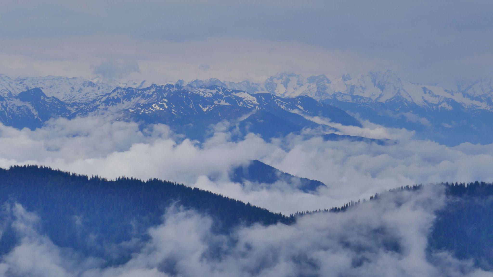 Über den Voldöppberg in das Alpachbachtal und die Zillertaler Alpen