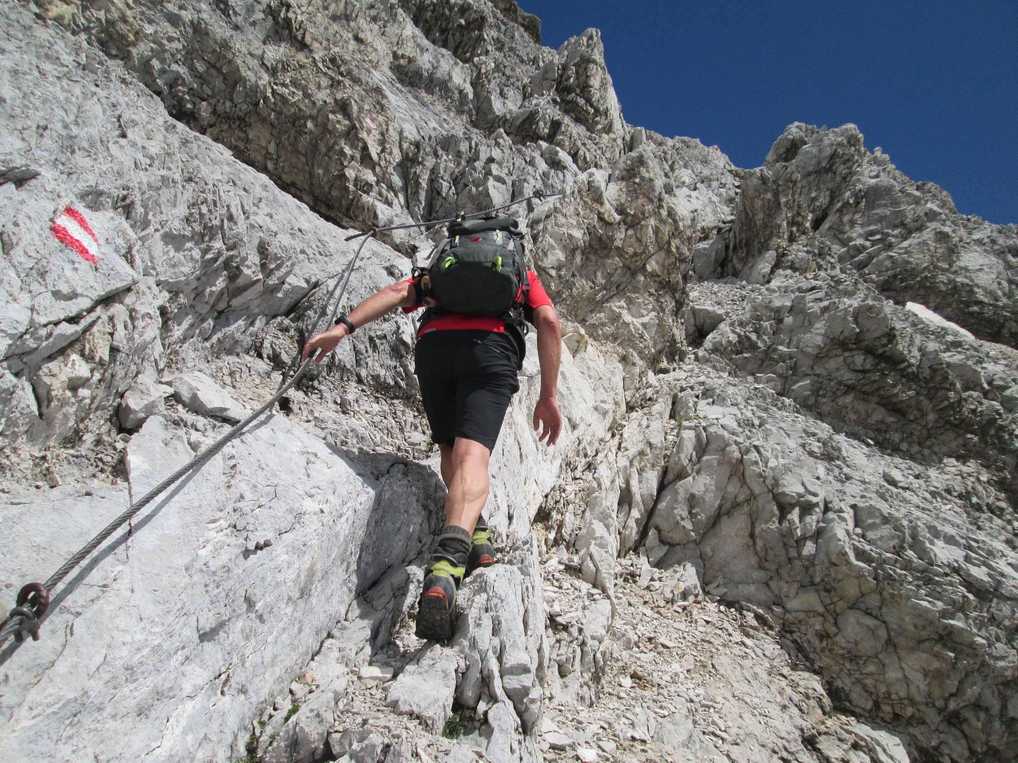 Klettersteig Schwierigkeitsgrad : Drachenwand klettersteig mondsee tourentipp