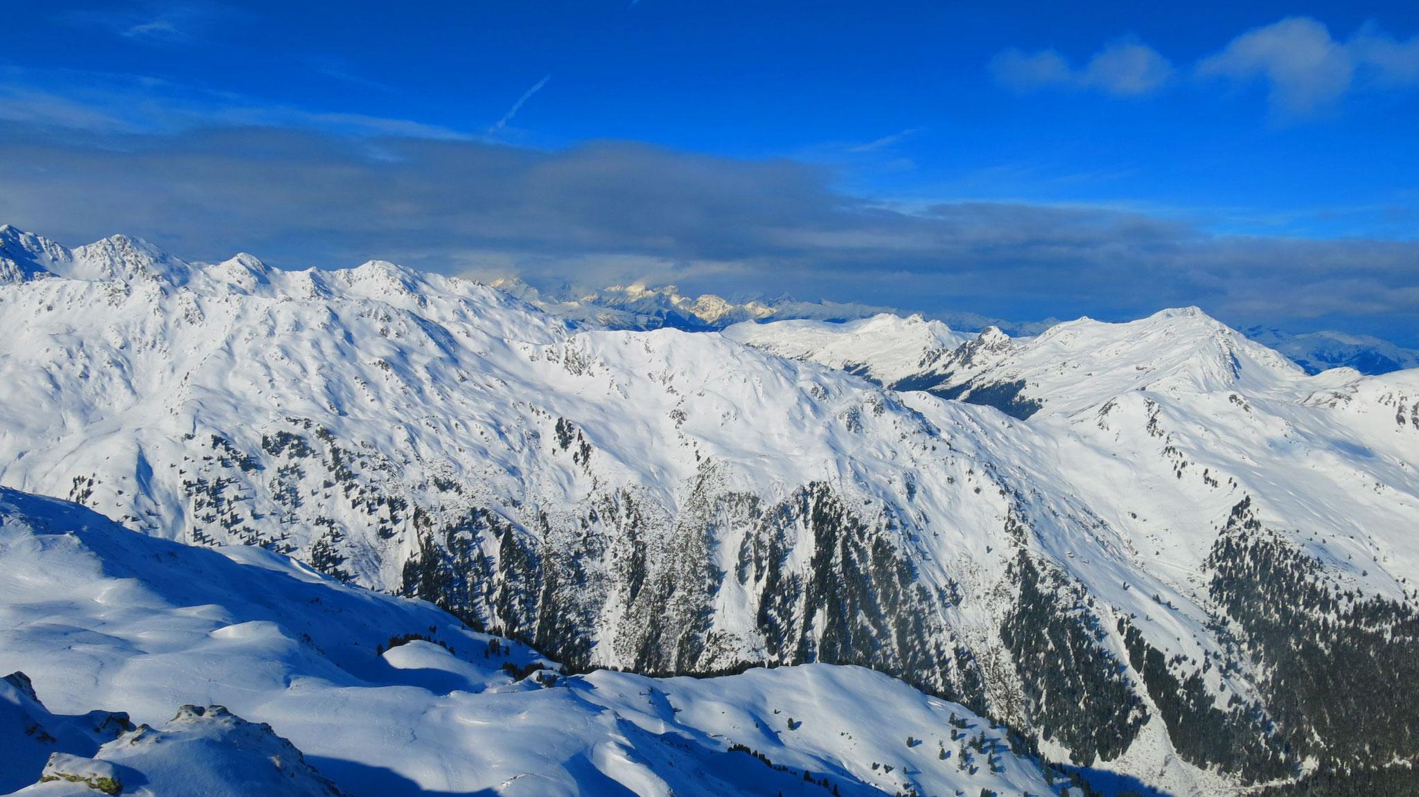 Westl. Kitzbüheler Alpen, mittig Karwendel