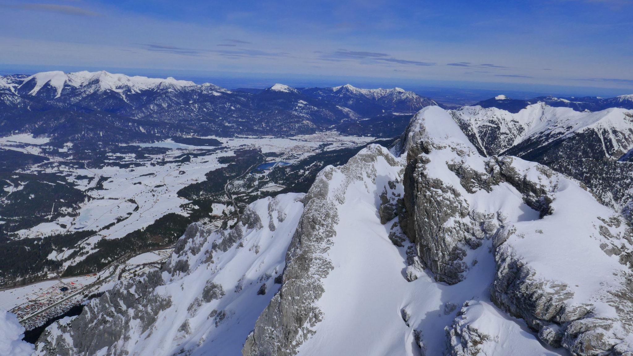 Über die Karwendelköpfe ins Alpenvorland