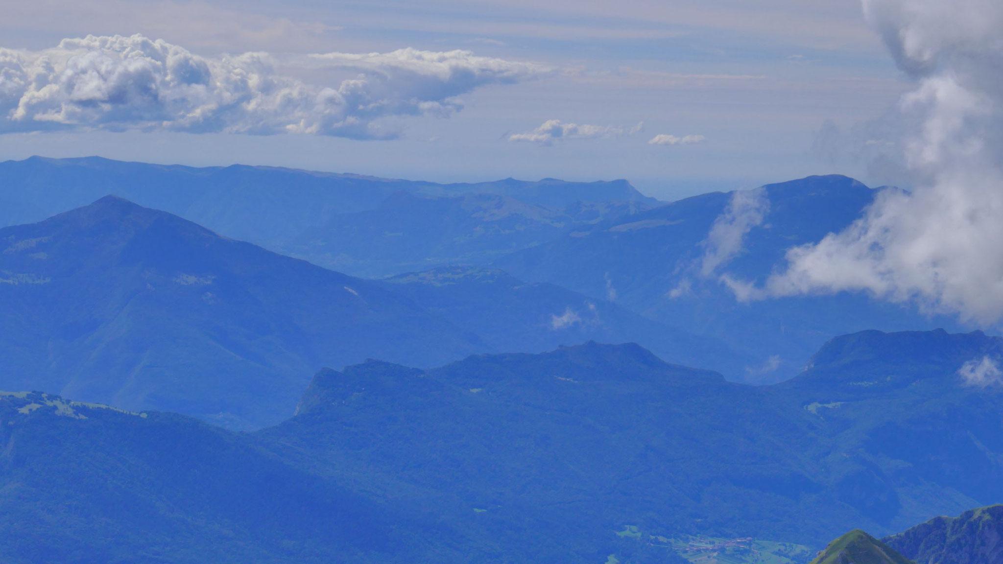 Ausläufer der Vizentiner Alpen östlich des Gardasees