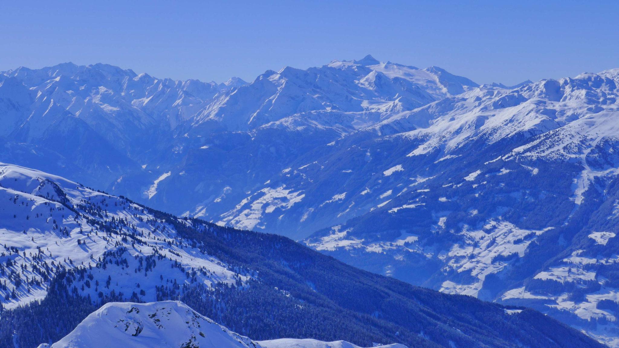 Hinteres Zillertal und Hintertuxer Gletscher