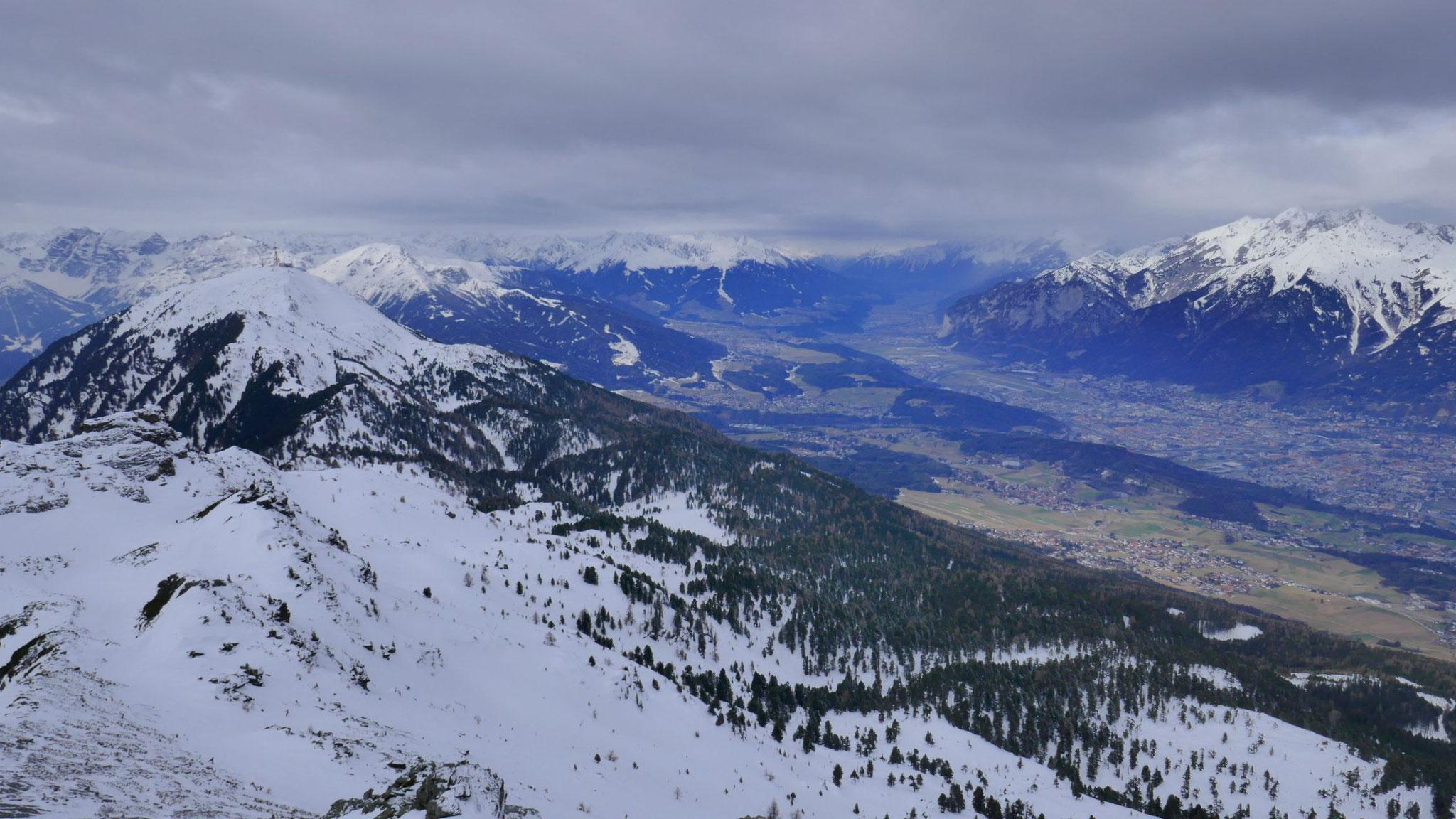Patscherkofel und Innsbruck