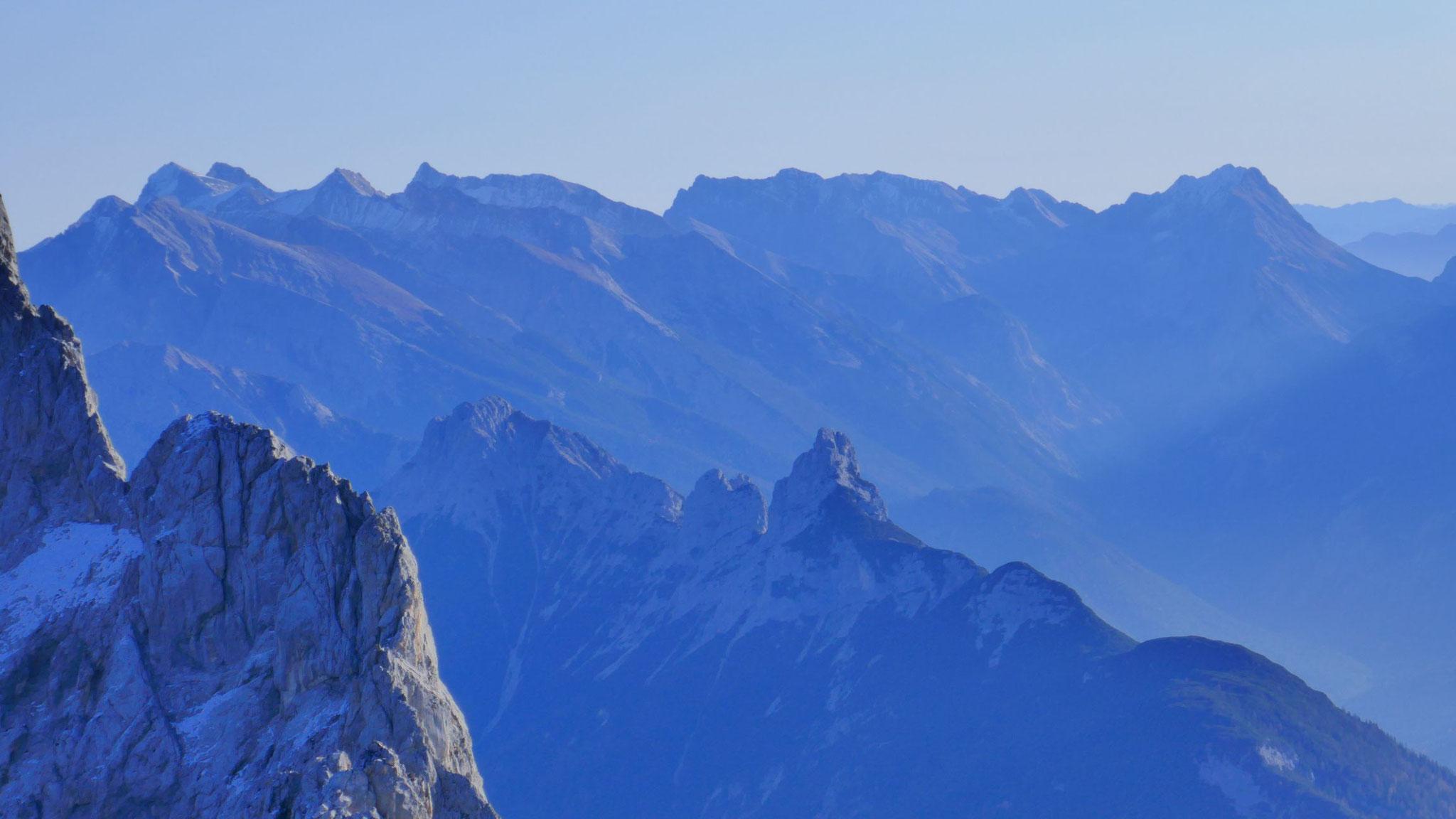 Arnspitzgruppe vor Karwendel