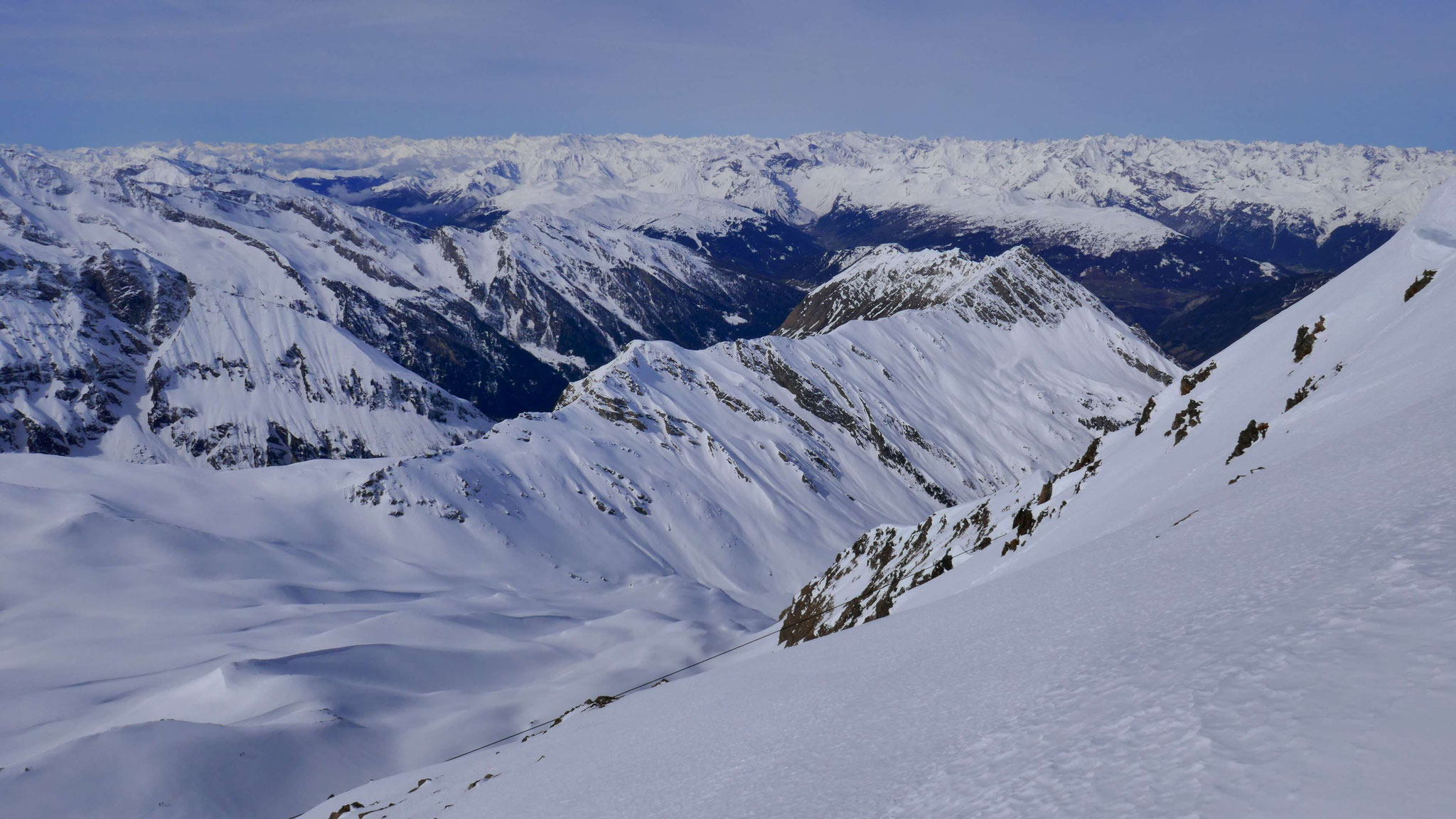 Nach Westen über Vals und Schmirntal in die Stubaier