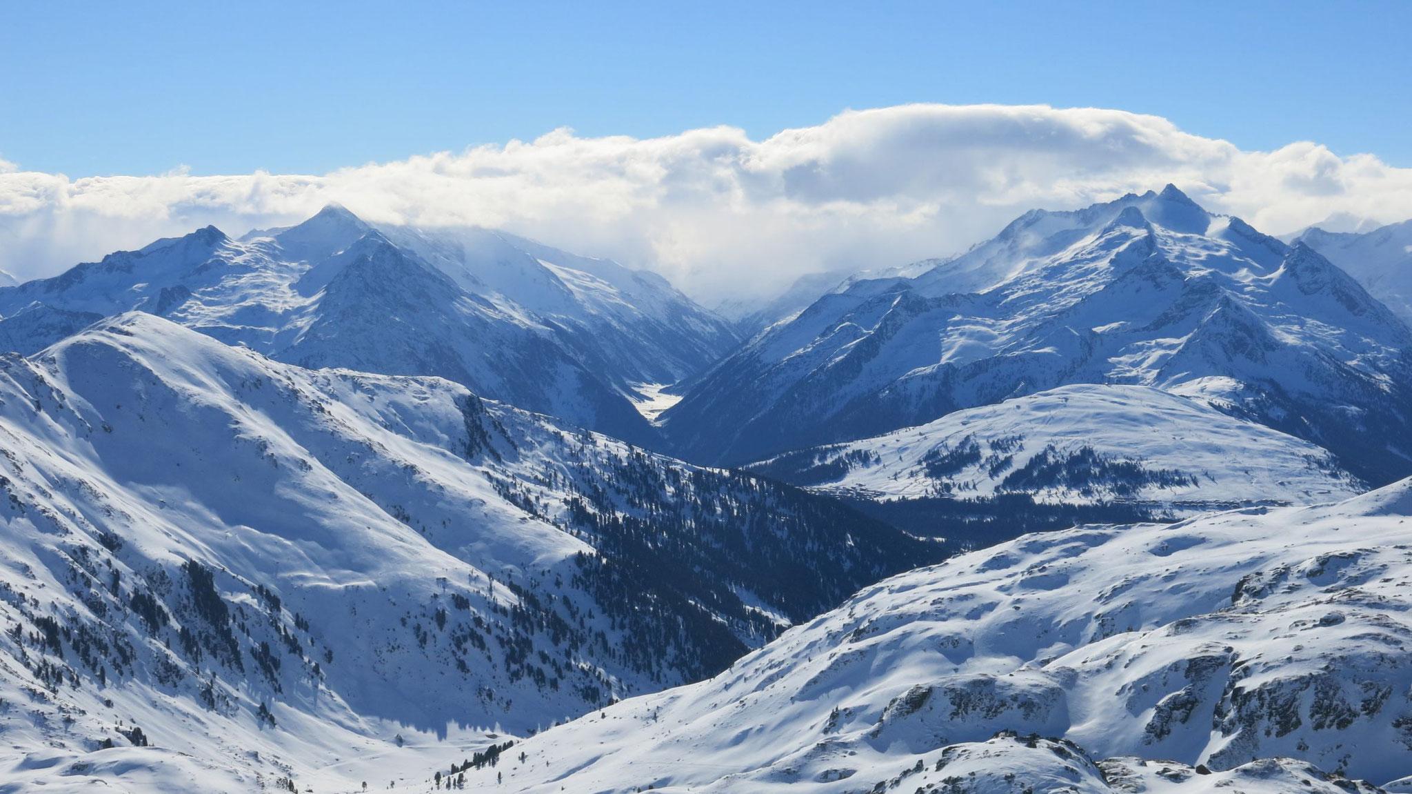 Krimmler Achental, rechts Wildkarspitze