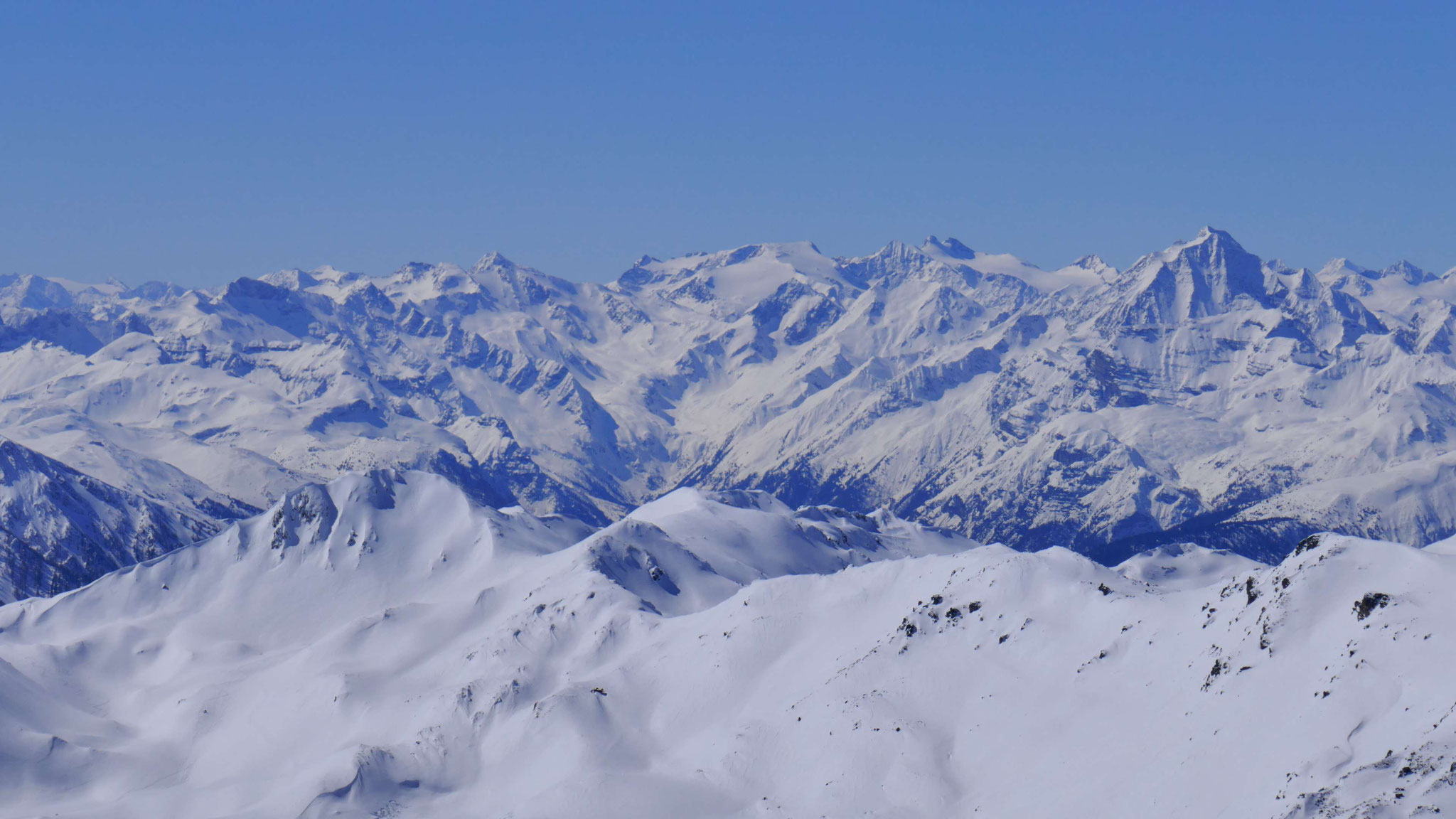 Stubaier Gletscherberge
