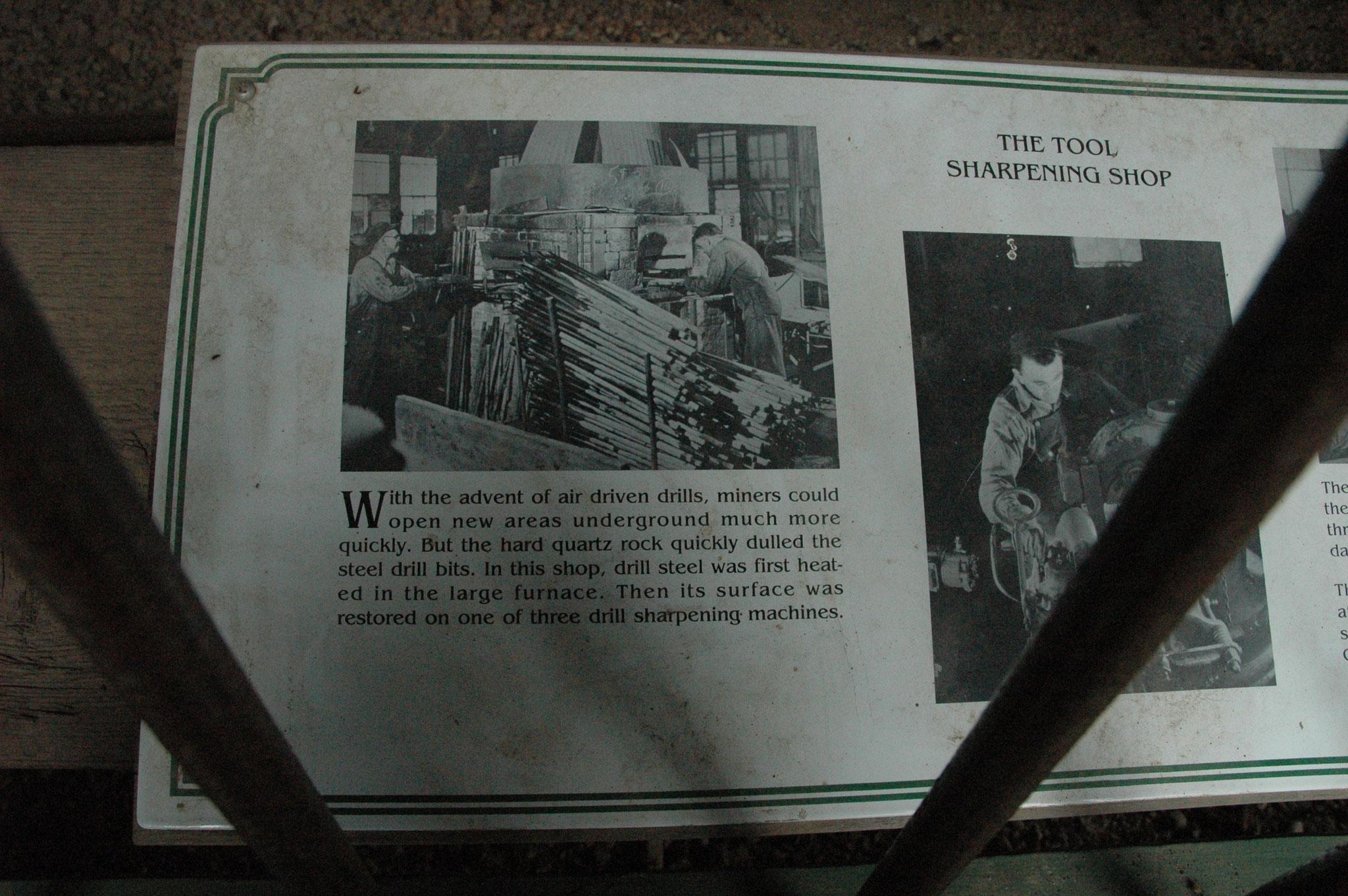 刃研ぎ作業場