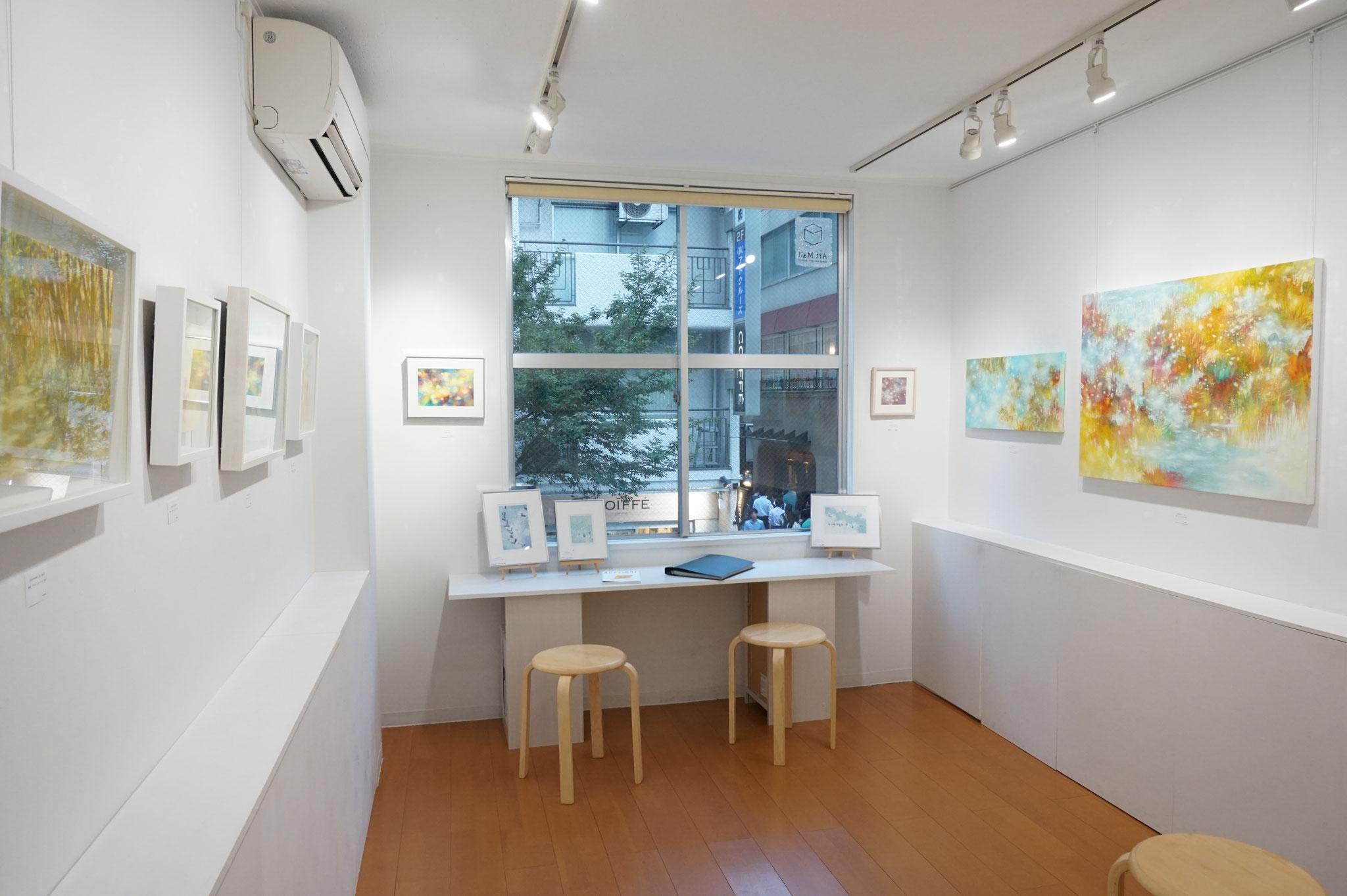 個展「ふりつもるひかり」2018.7.31〜8.10 Art Mall