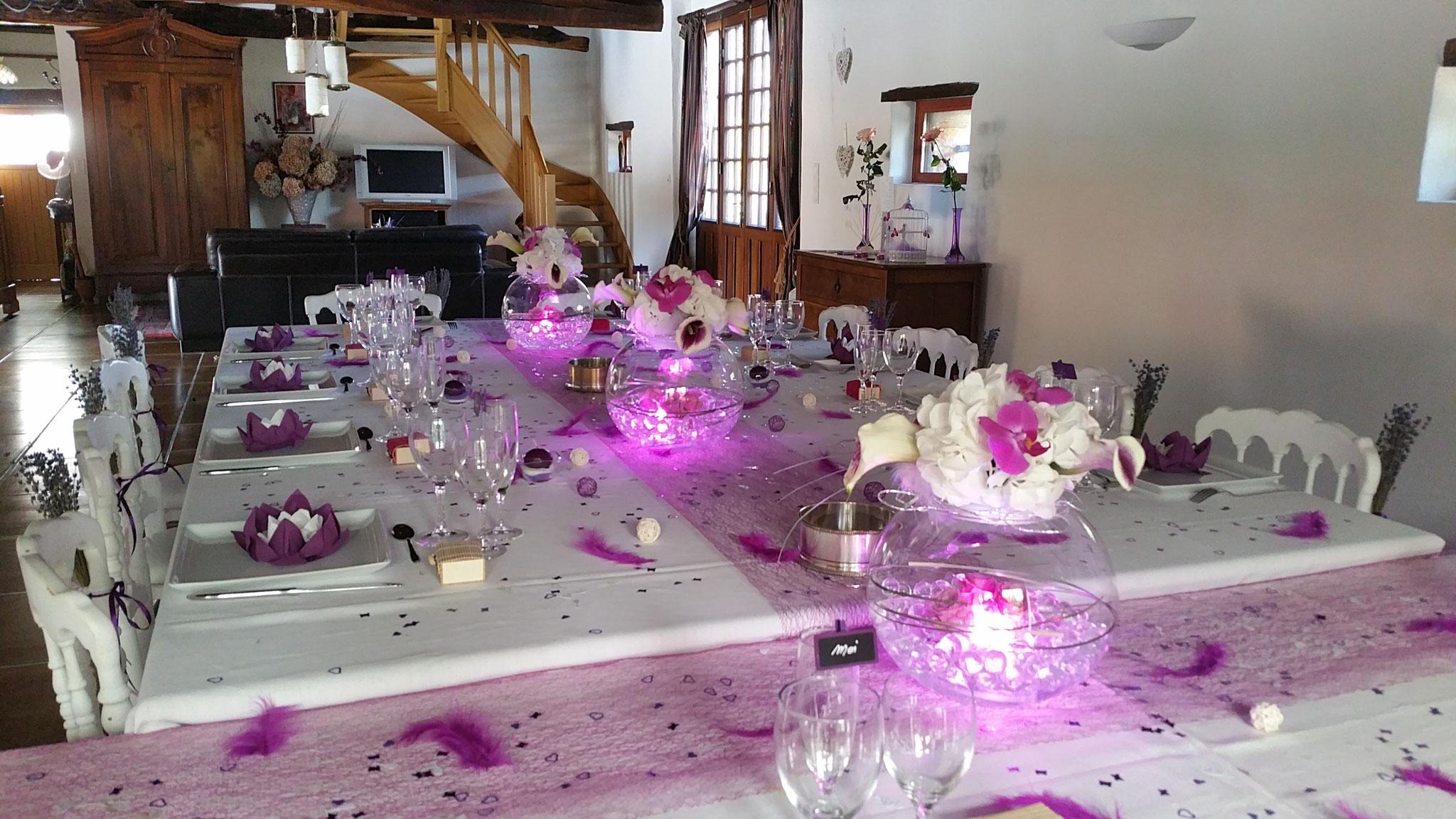 Domaine de Millox, mariage coloré