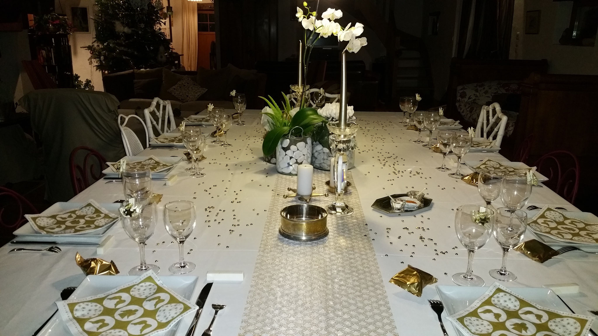 domaine de Millox, table de Noel