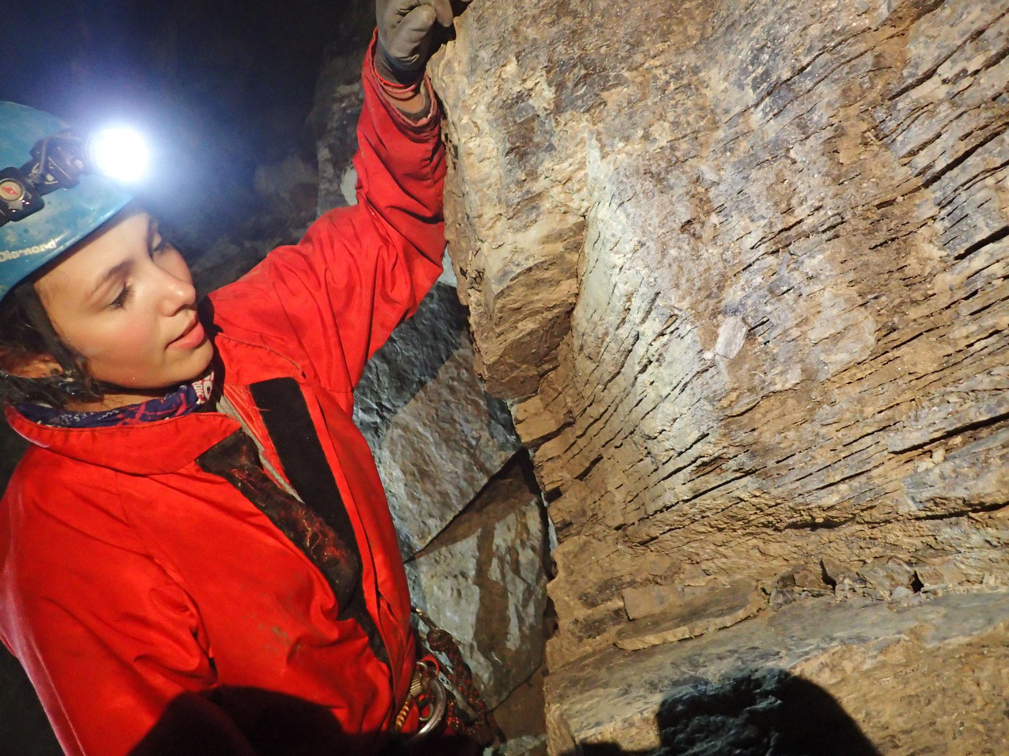 Feuilleté-grotte des Eaux Chaudes