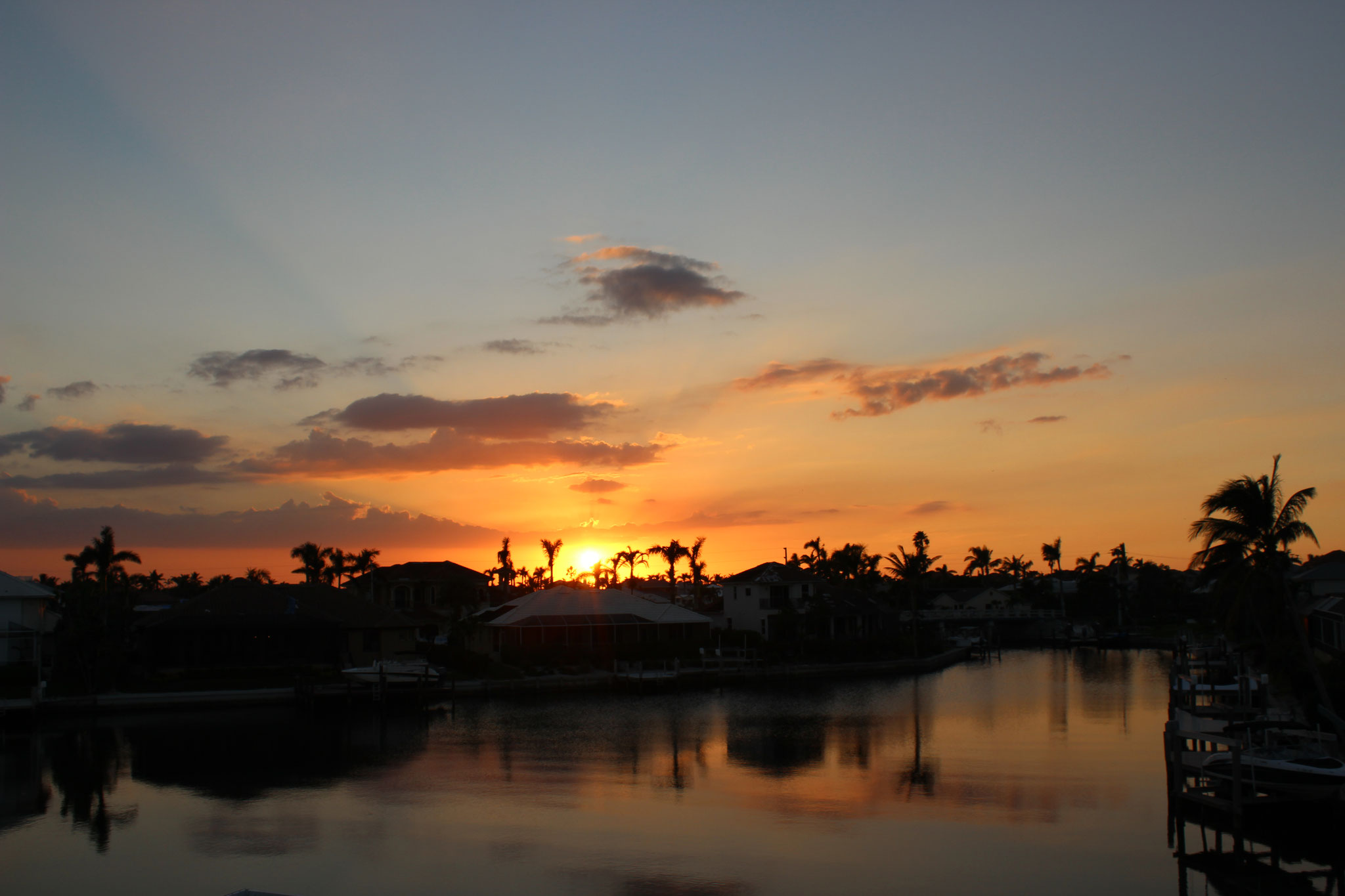 Marco Island Vacation Home sunset