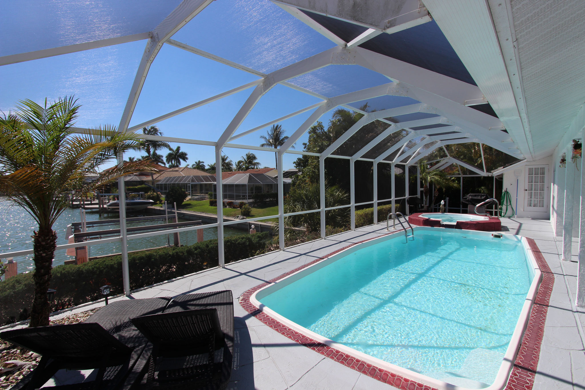 Marco Island Vacation Home Pool