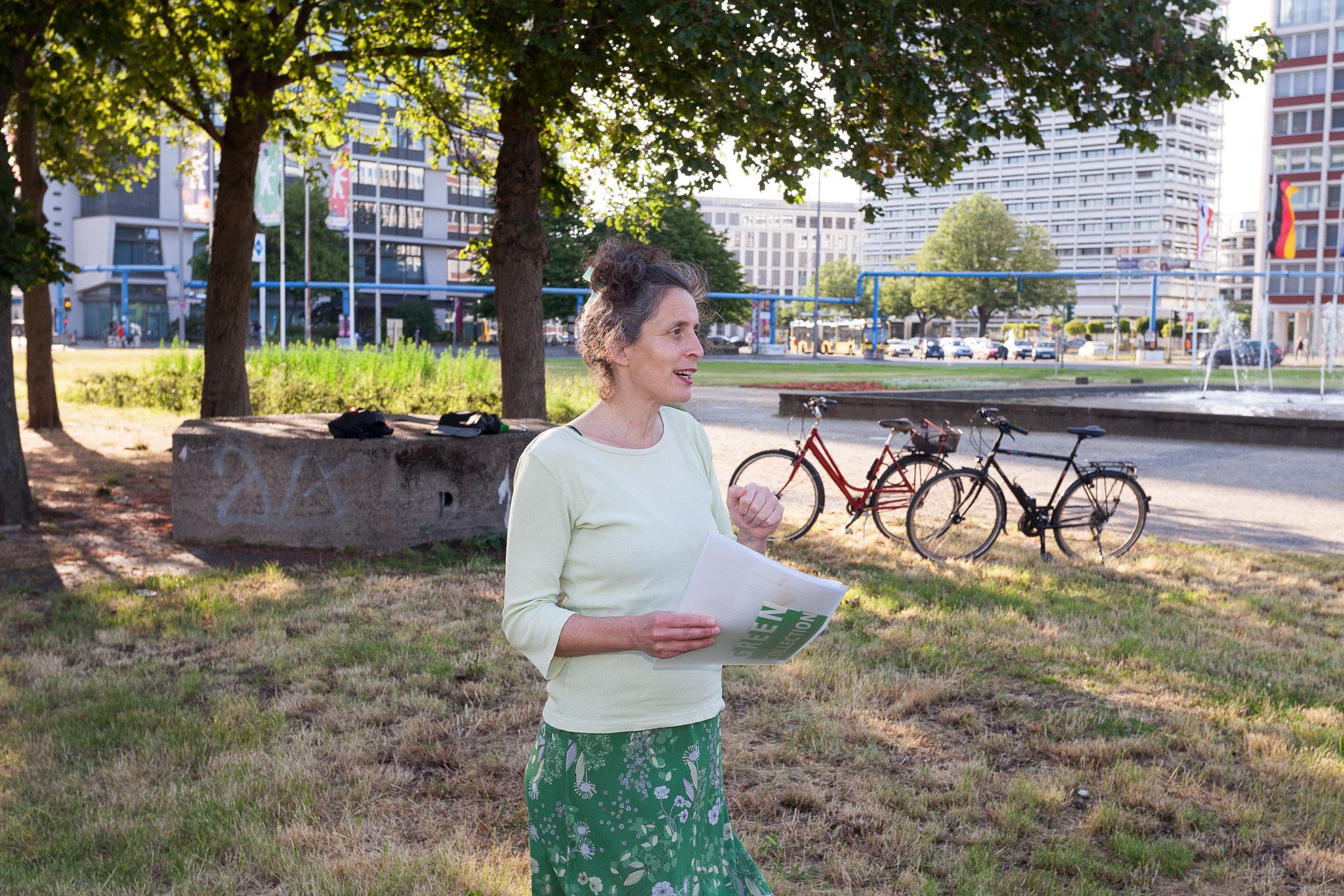 © Oliver Möst, Stadt findet Kunst, Dokumentation Walk Ernst Reuter Platz