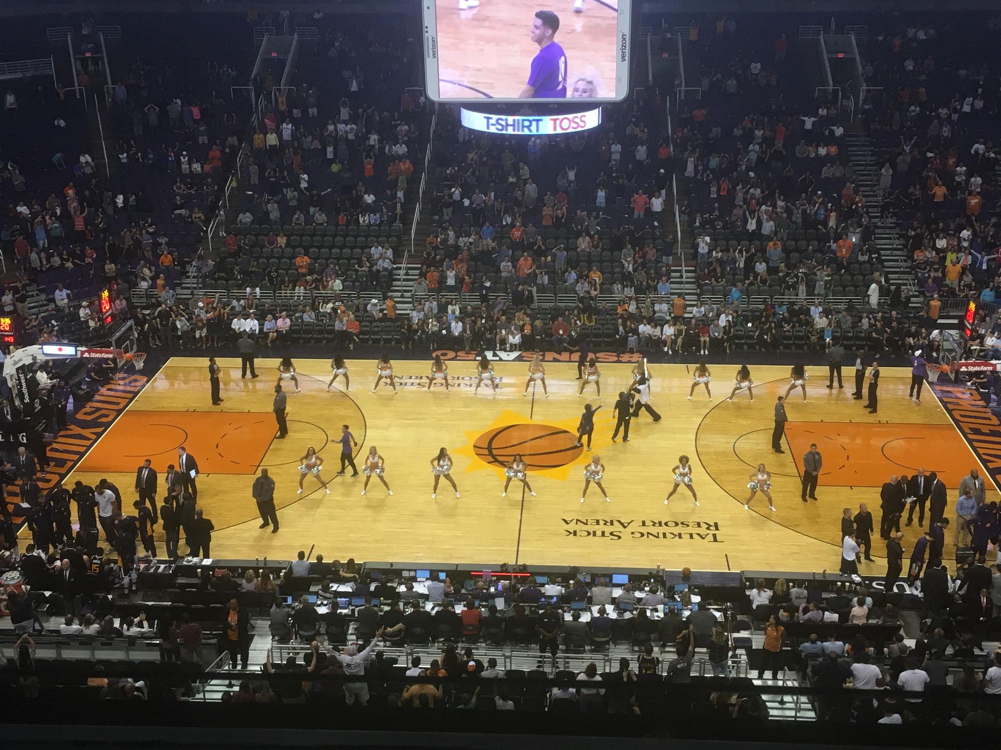 Phoenix Suns vs Utah Jazz (2017/18)