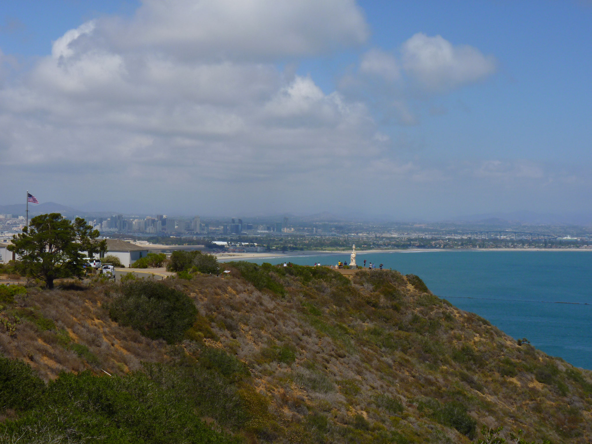 Vue du Cabrillo National Monument