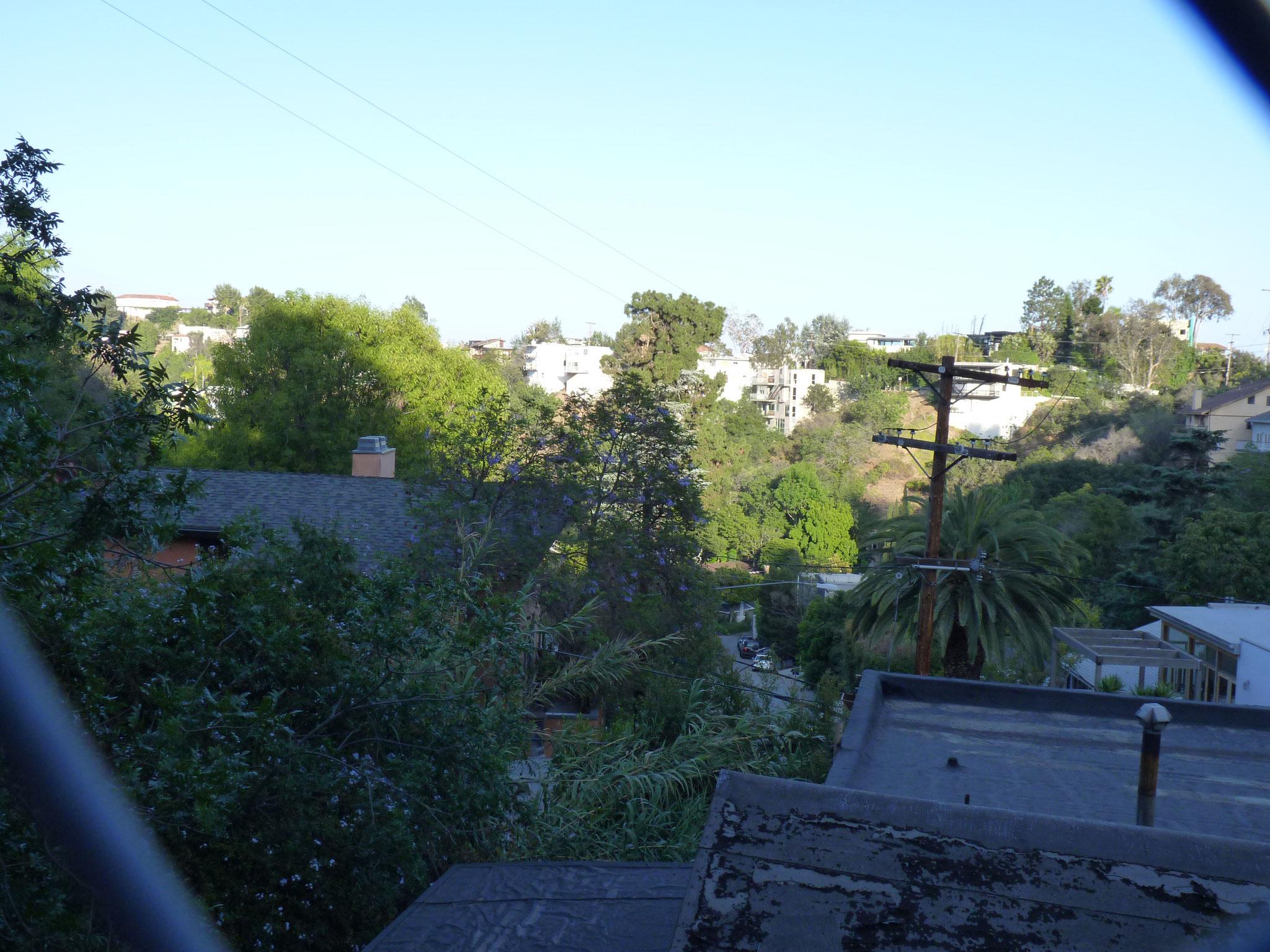 Résidences dans les hauteurs de Laurel Canyon