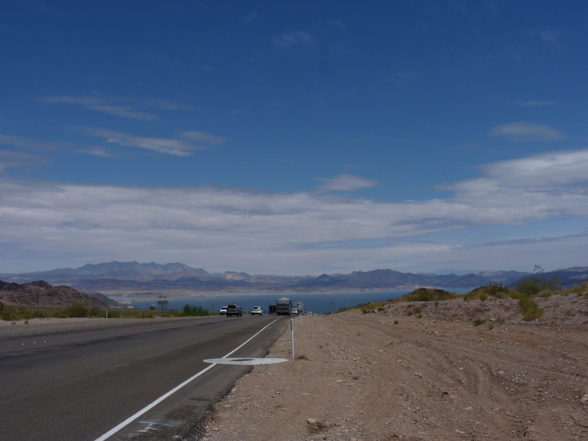 Vue sur le Lake Mead