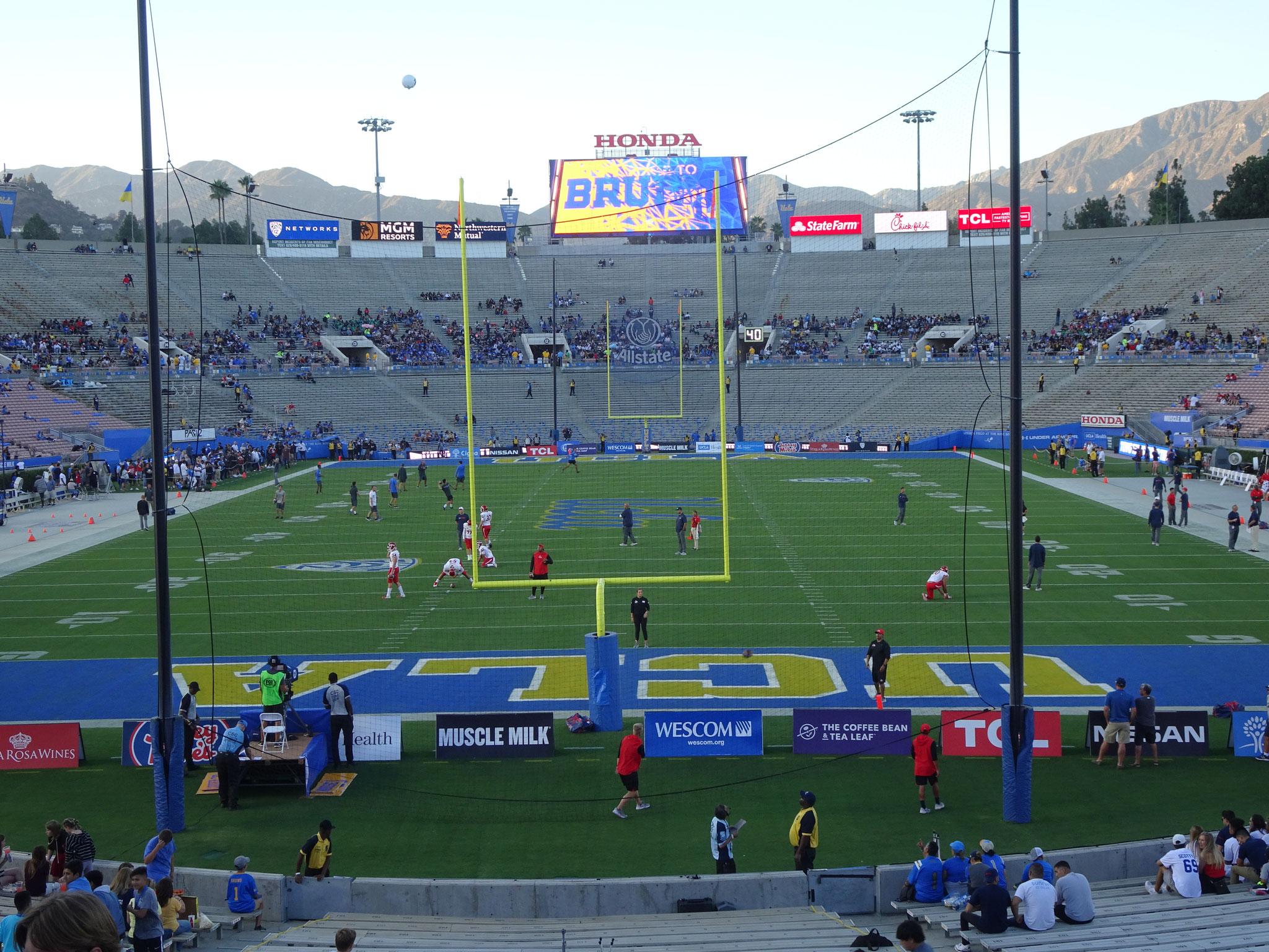 UCLA Bruins vs Bulldogs de Fresno State (2018/19)