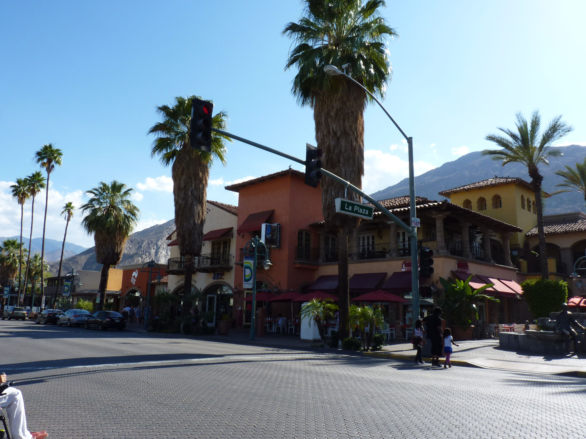 Downtown de Palm Springs