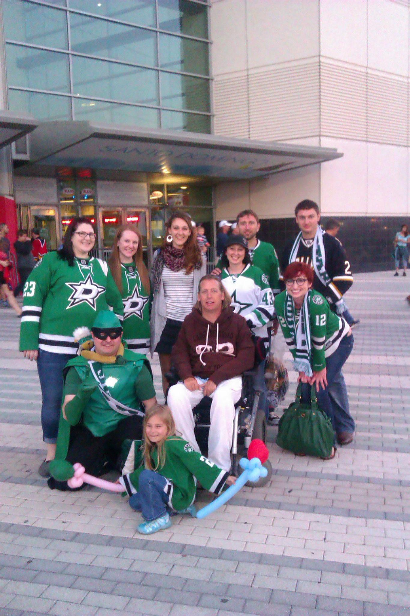 """Dallas Stars Fans """"Hockey"""""""