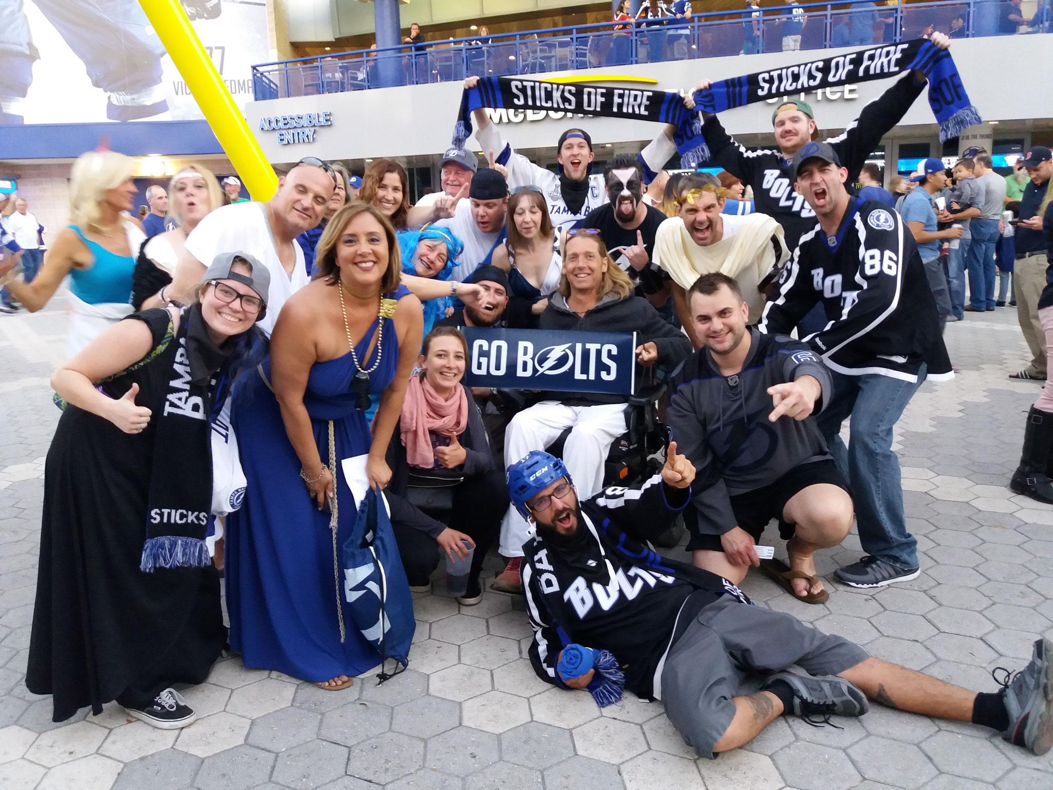 """Tampay Lightning Fans """"Hockey"""""""
