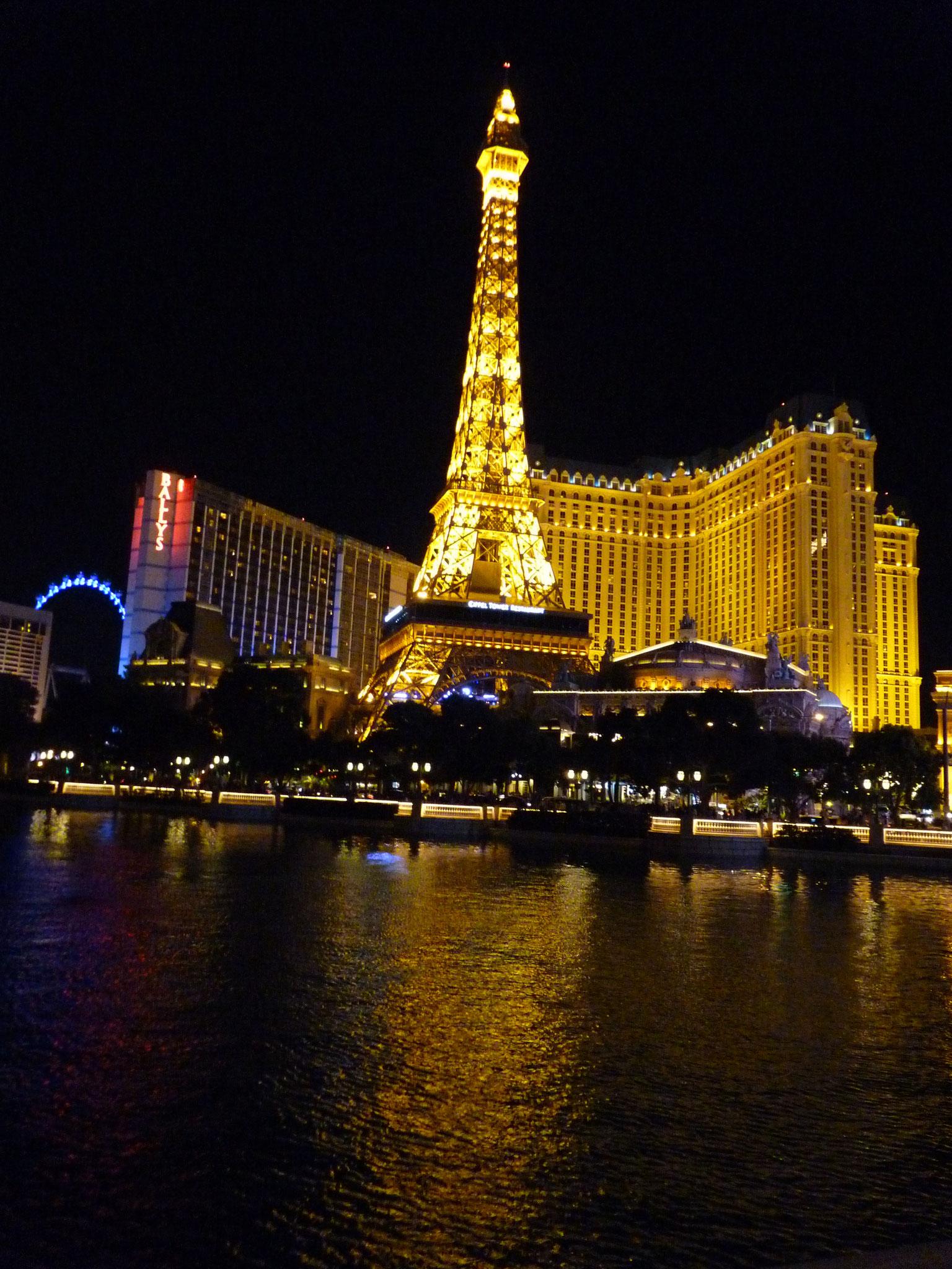 La Tour Eiffel sur Las Vegas Strip
