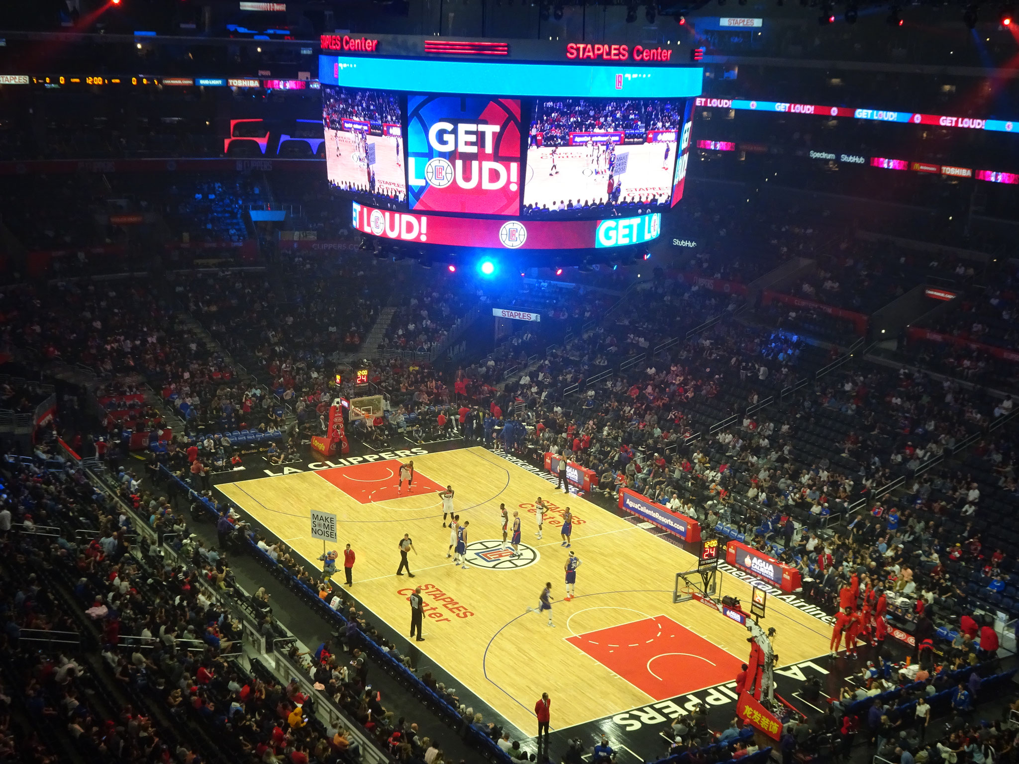 Los Angeles Clippers vs Washington Wizards (2018/19)