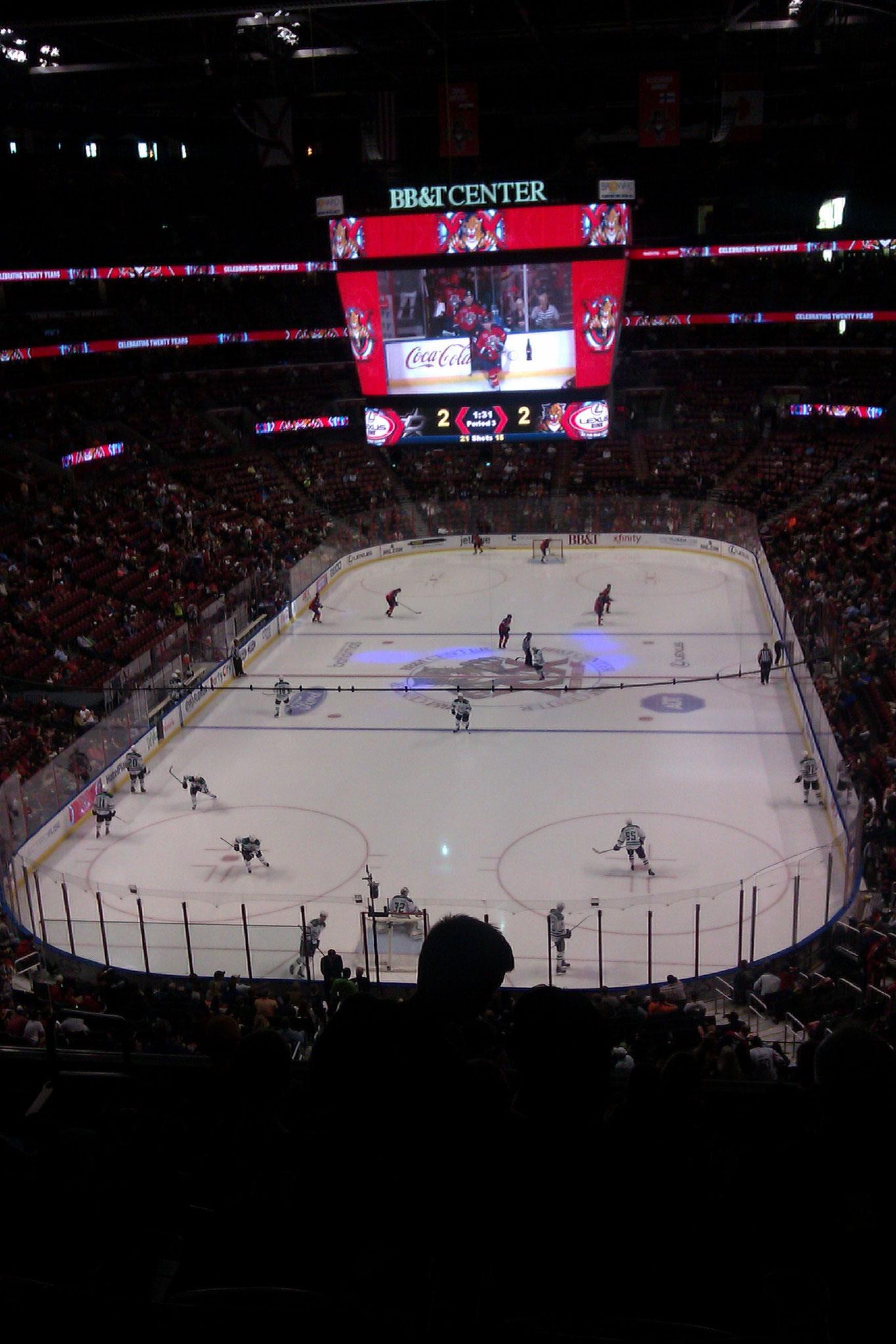 Florida Panthers vs Dallas Stars (2013/14)