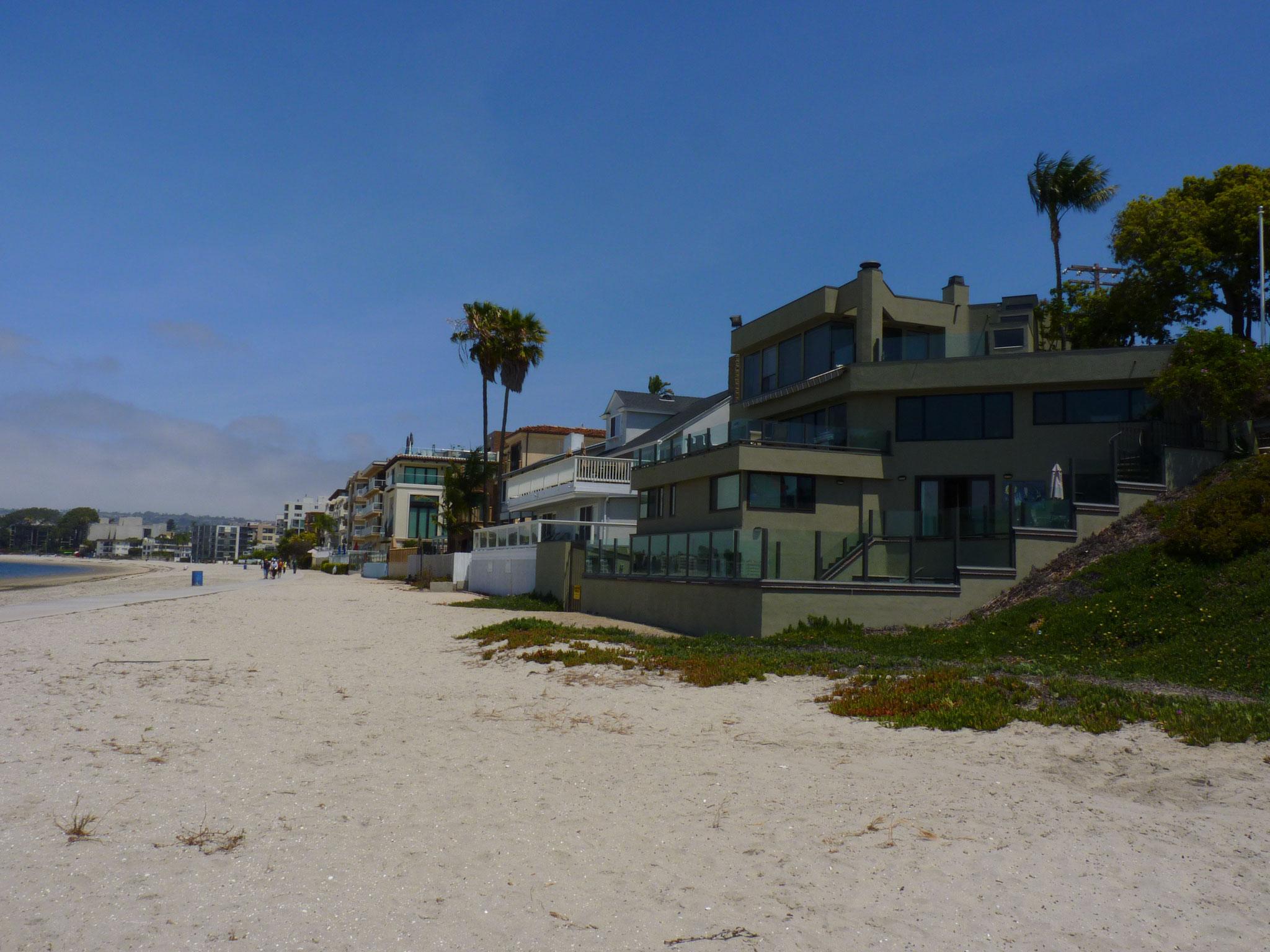 Balade le long de la baie de San Diego (devant chez John)