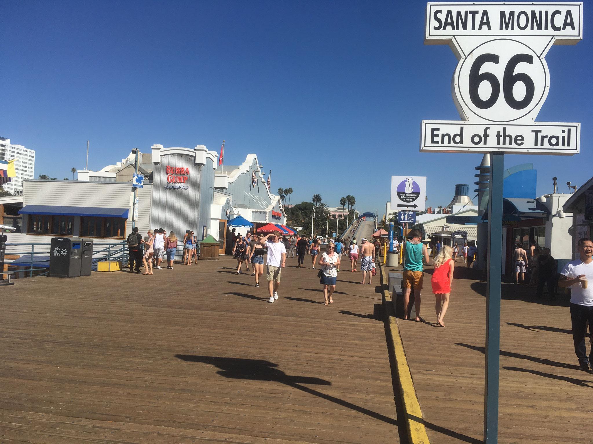 """Santa Monica """"Fin de la Route 66"""""""