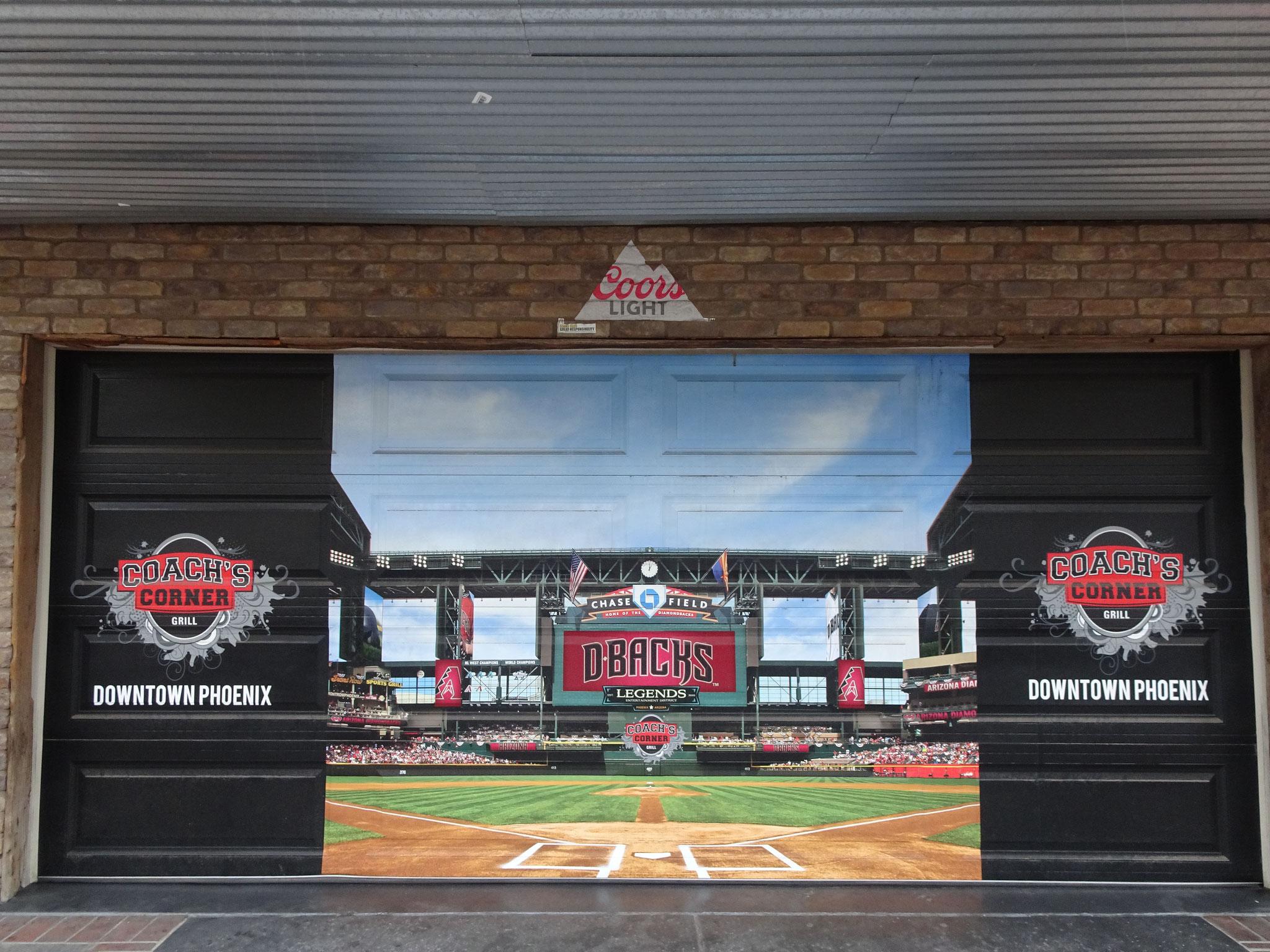 Arizona Dbacks Baseball Stadium situé à 100 mètres du TSRA