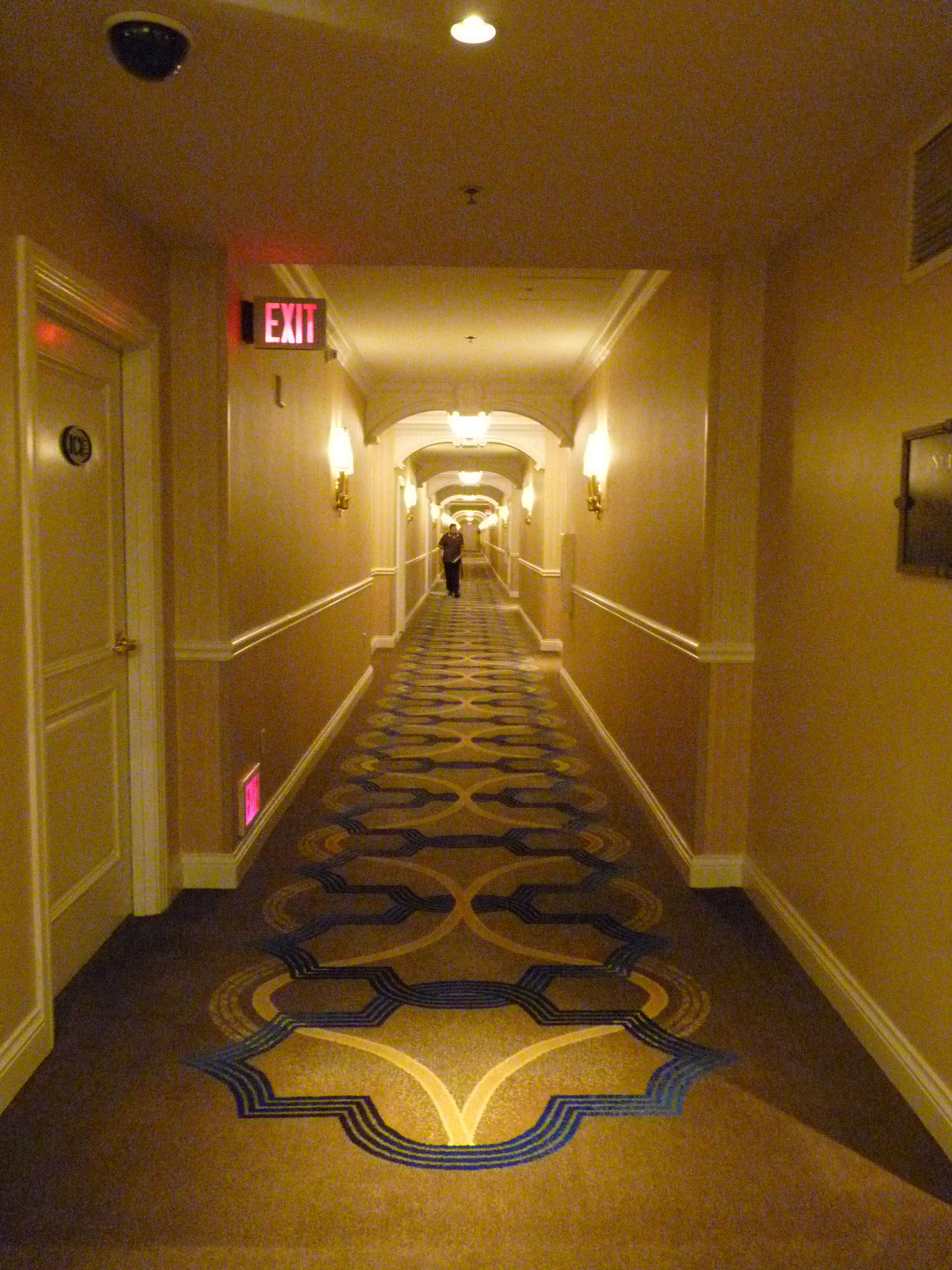 """""""Shining"""" dans les couloirs du Venetian Hôtel"""