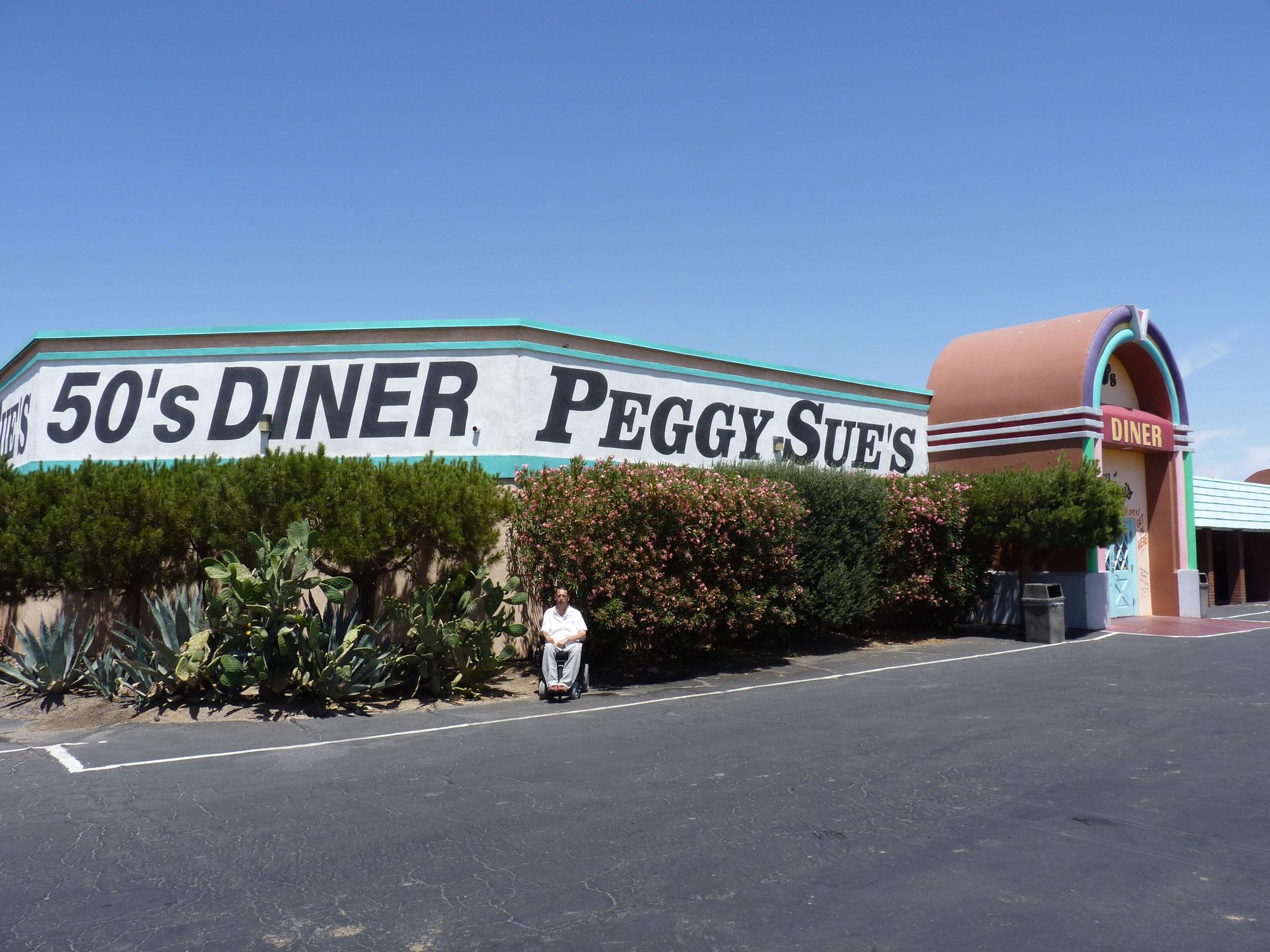 """Entrée du """"Peggy Sue's Dinner"""""""