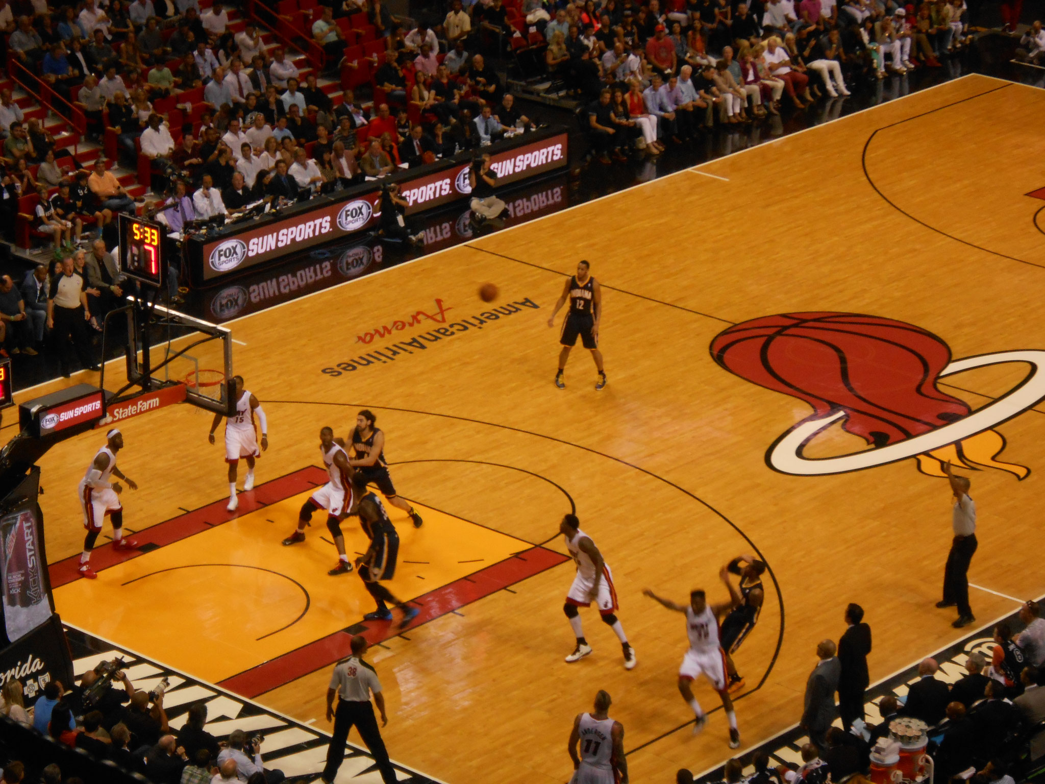 Miami Heat vs Indiana Pacers (2013/14)