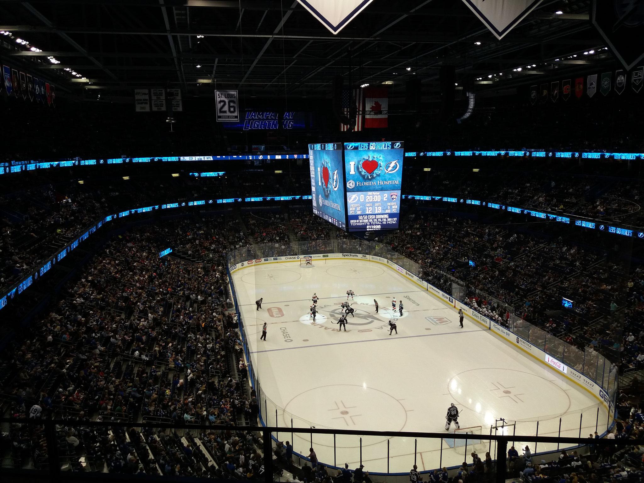 Tampa Bay Lightnings vs Florida Panthers