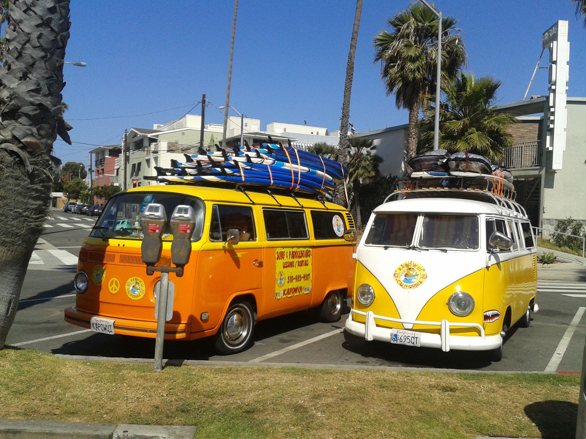 Combi Surf à Santa Monica