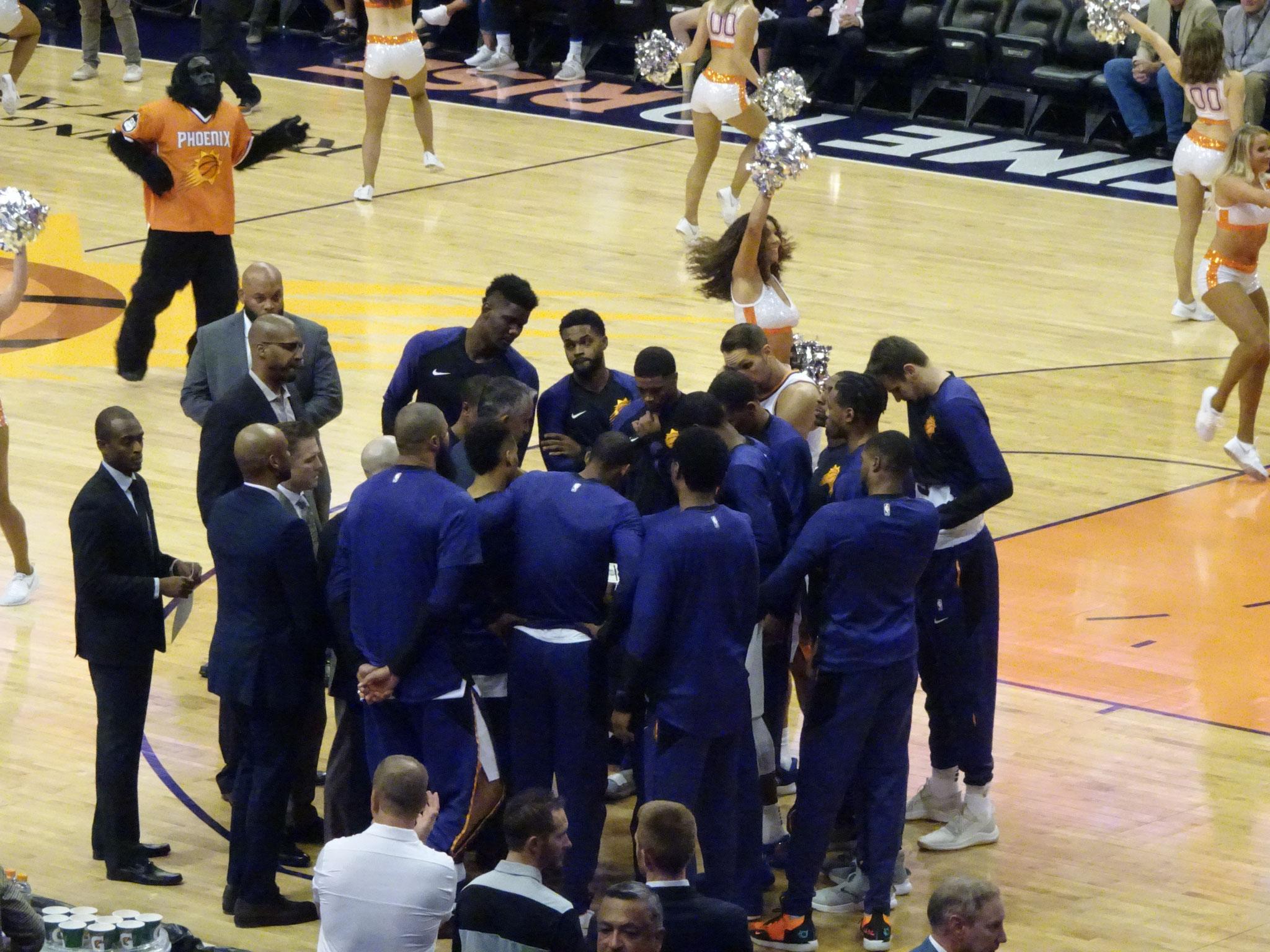 Phoenix Suns vs Portland Trailblazers (2018/19)