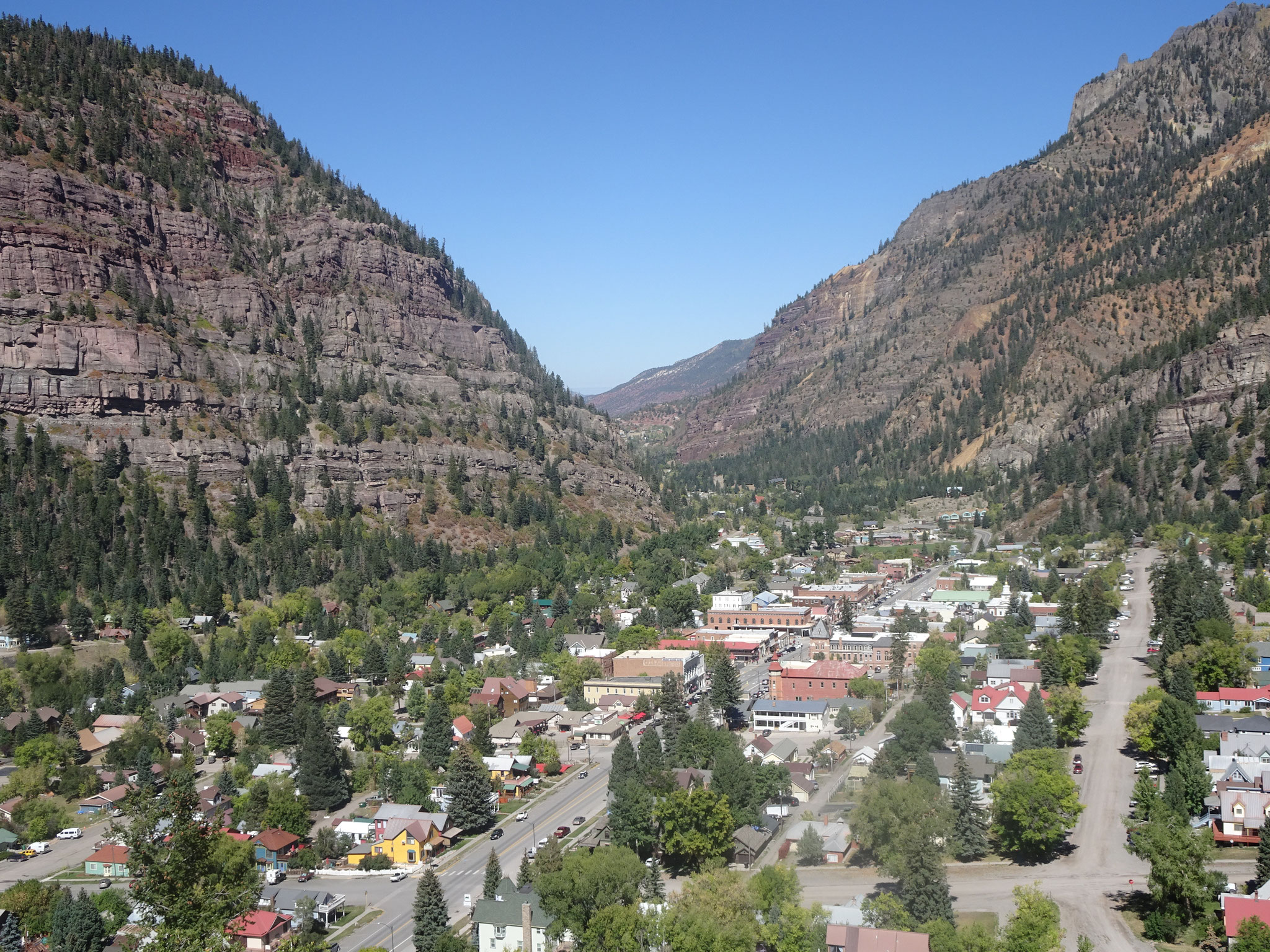 Ouray sur la Million Dollar Highway