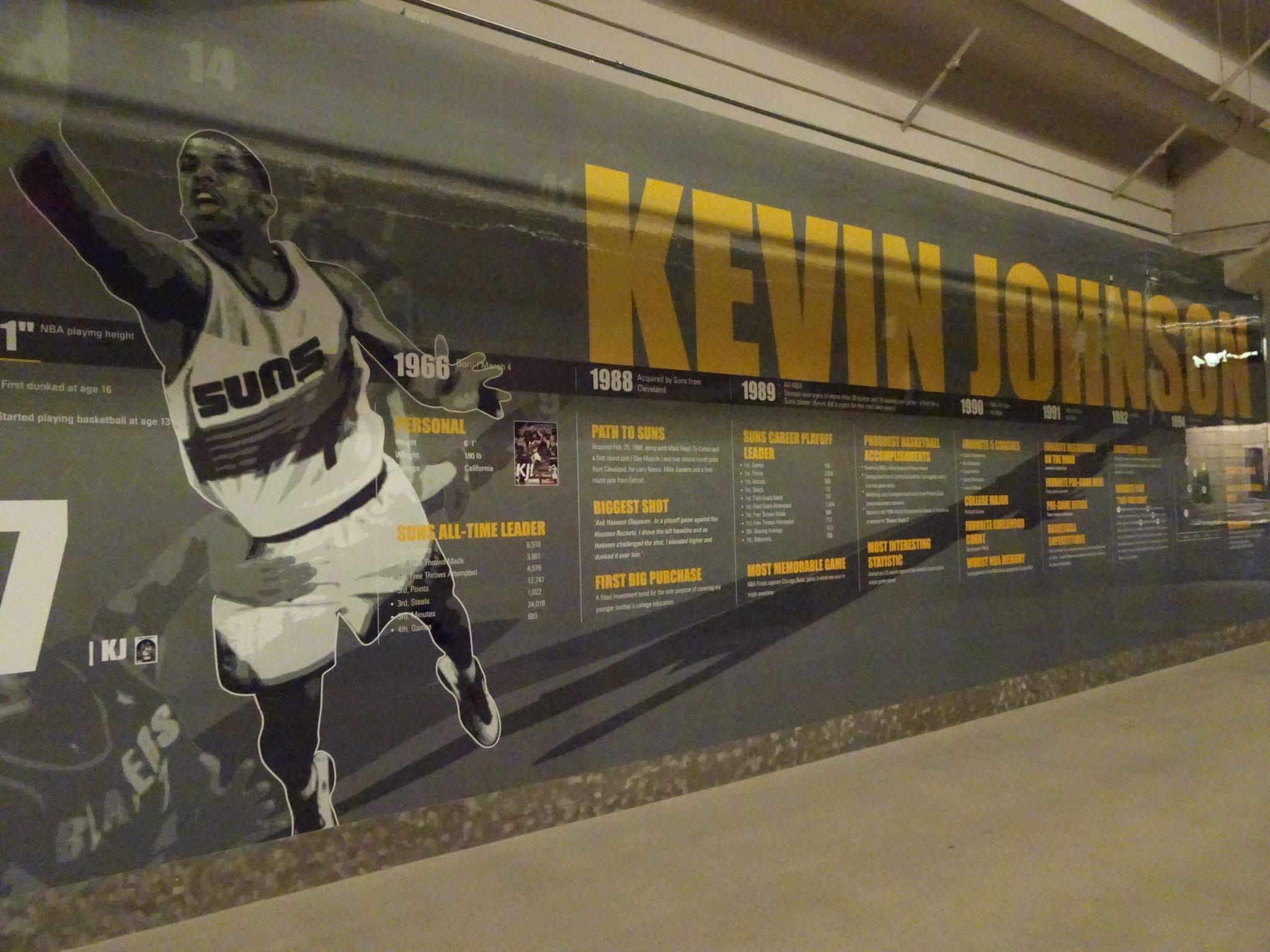 KJ dans les couloirs de la TSRA (Phoenix)