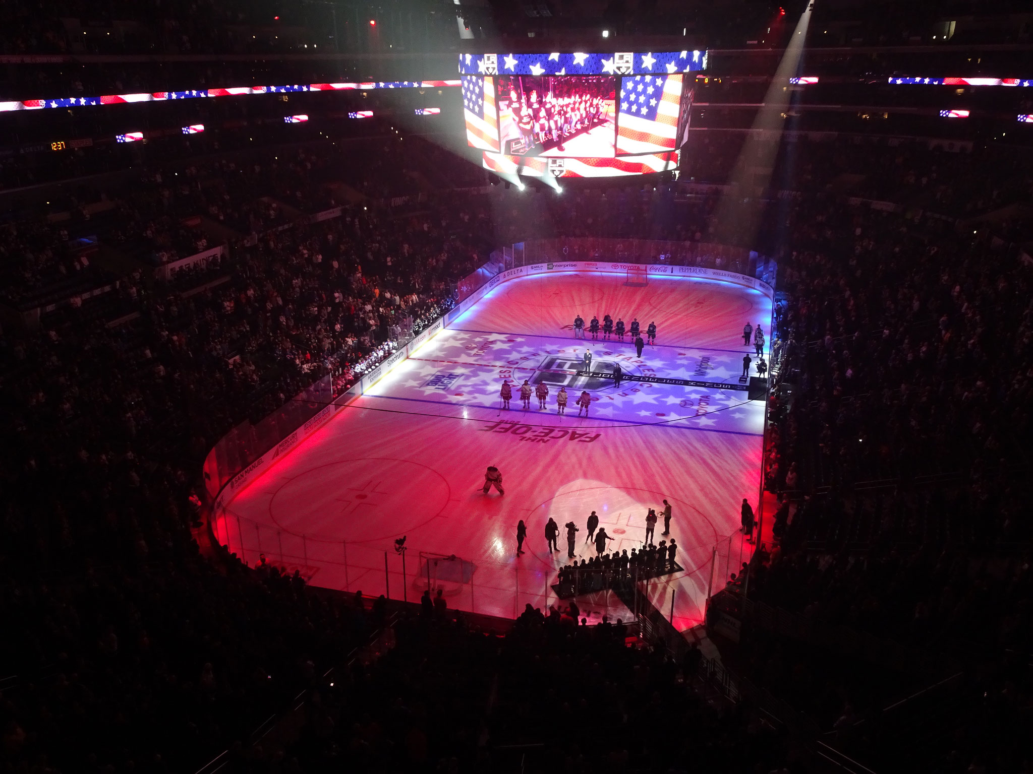 Los Angeles Kings vs New York Rangers
