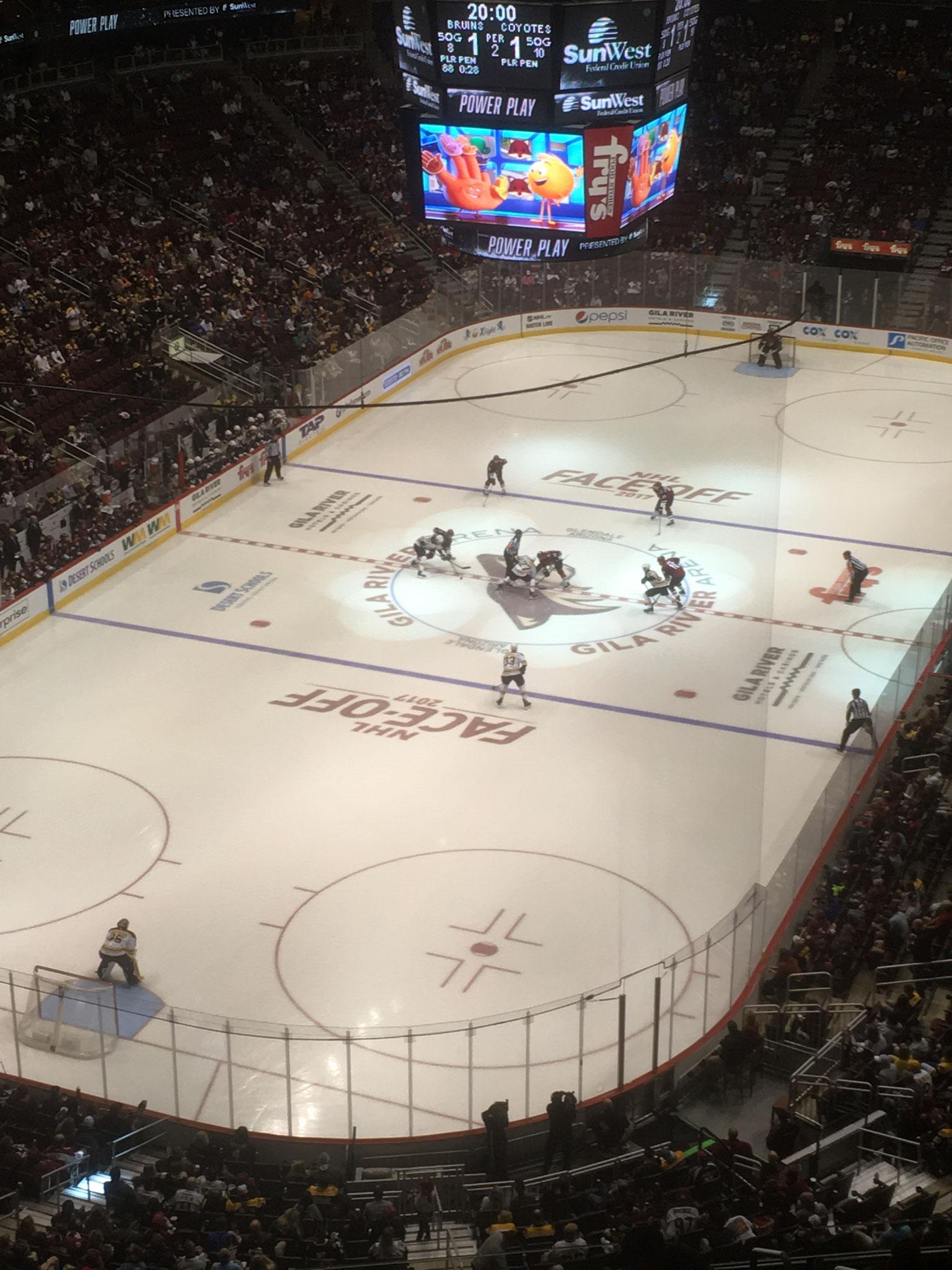 Arizona Coyotes vs Boston Bruins (2017/18)